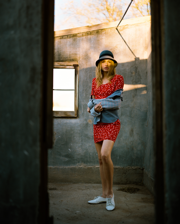 3_Corrin_Tucson_Medium format_Pentax_67_Red_Dress_Kodak_Portra_400_Copyright_Taylor_Noel_Photography.jpg