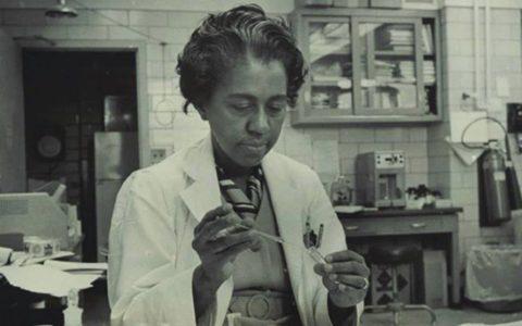 Dr. Marie Daly ( Image credit: Ebony.com)