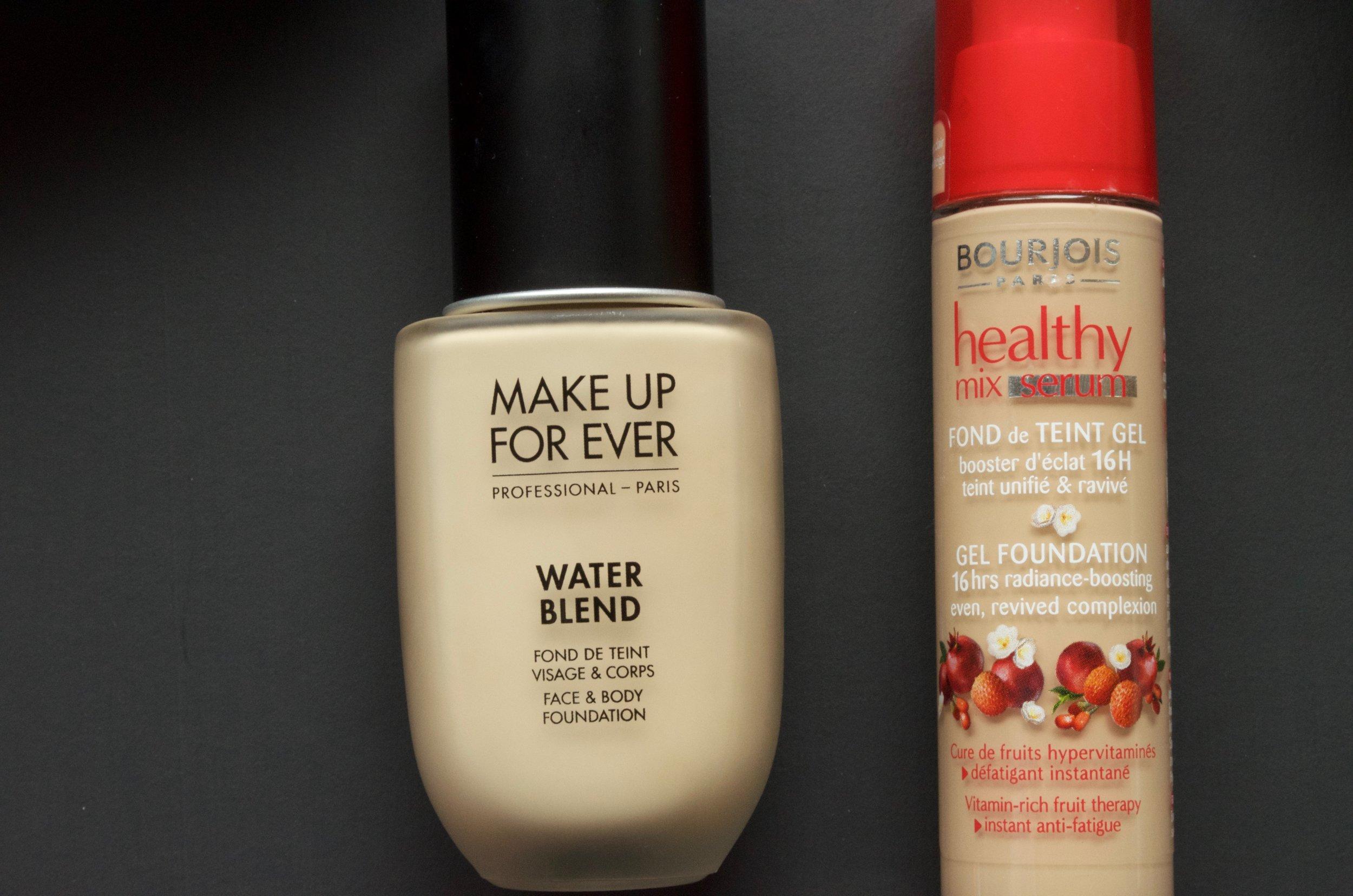 MUFE water blend vs. Bourjois Healthy Mix