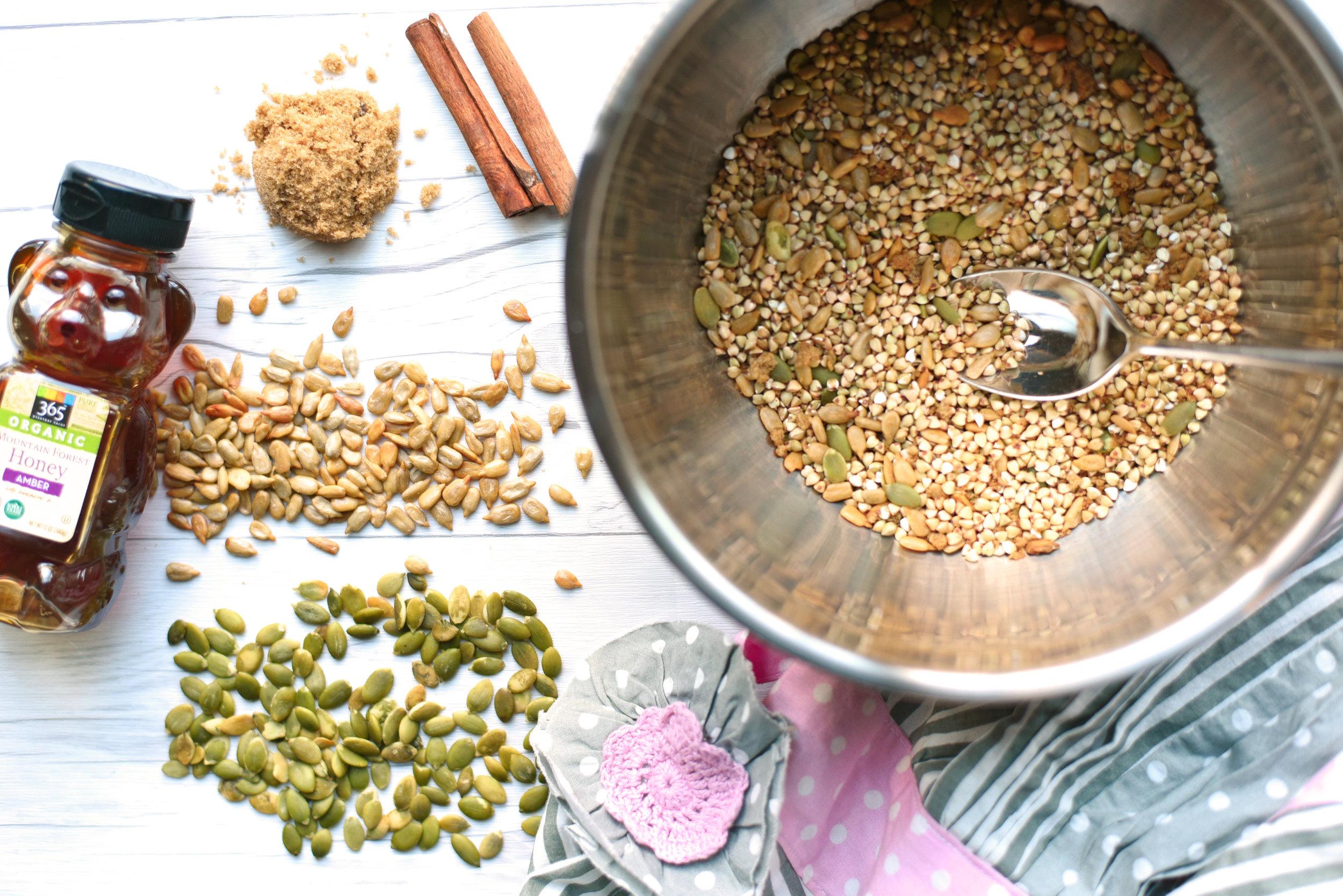 Buckwheat Granola Clusters