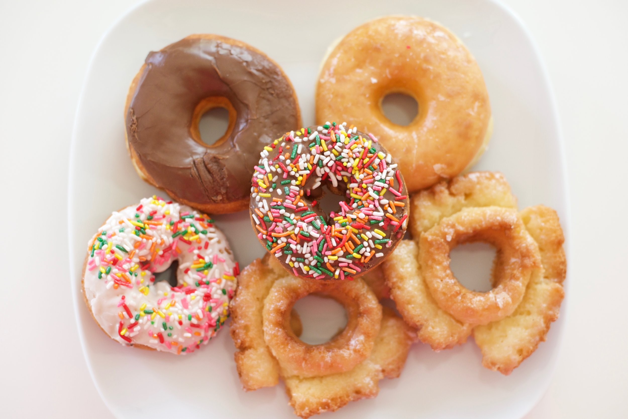 - Got to have donuts when it's your birthday