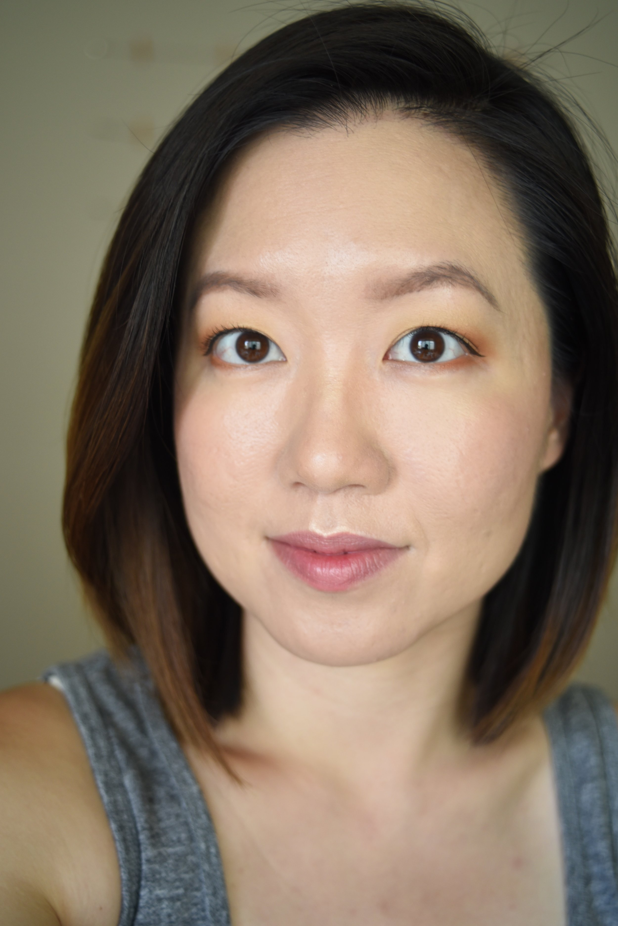Unedited photo! Makeup freshly applied.