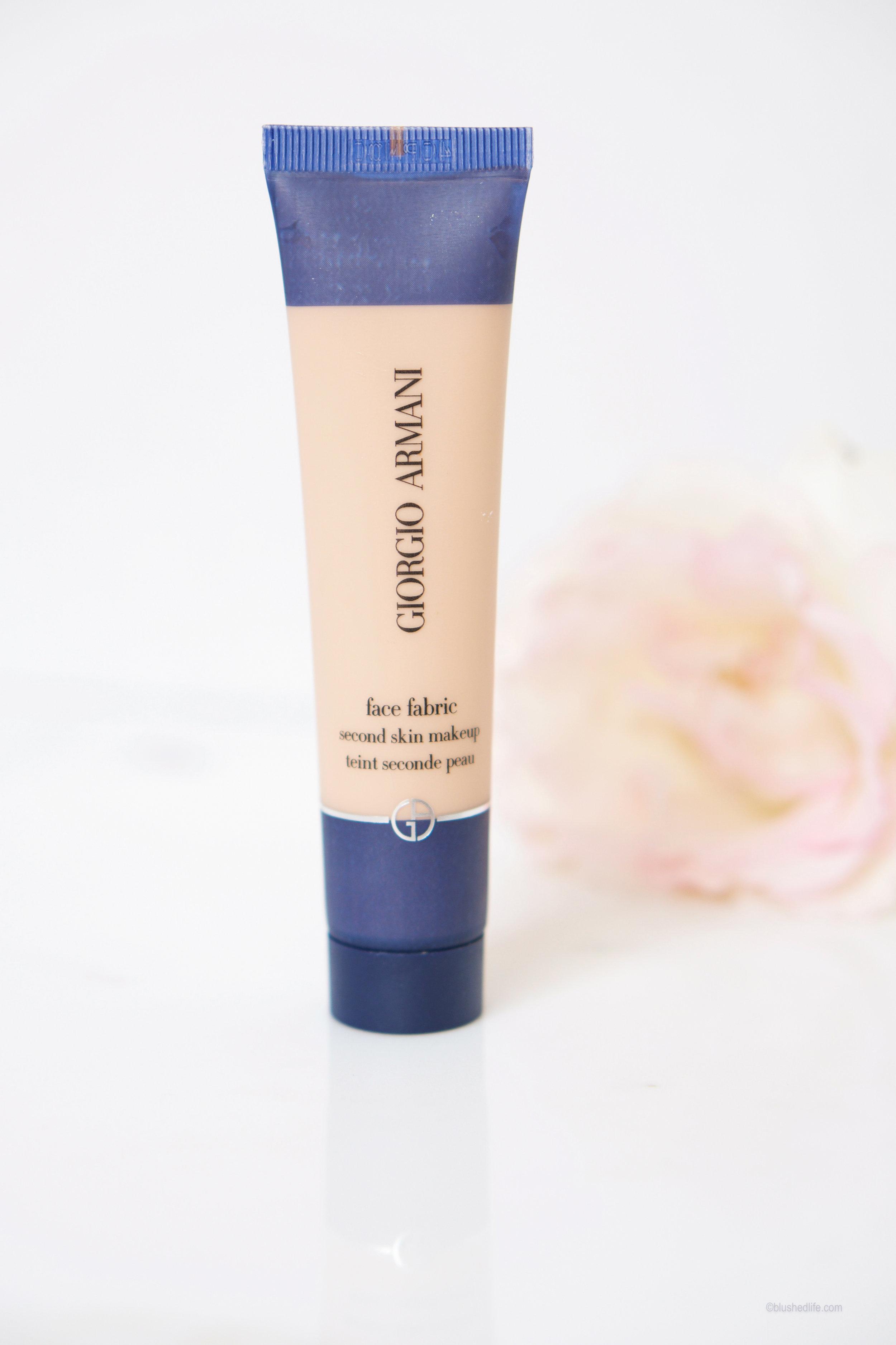 Giorgio Armani Face Fabric Second Skin Makeup in #1 -