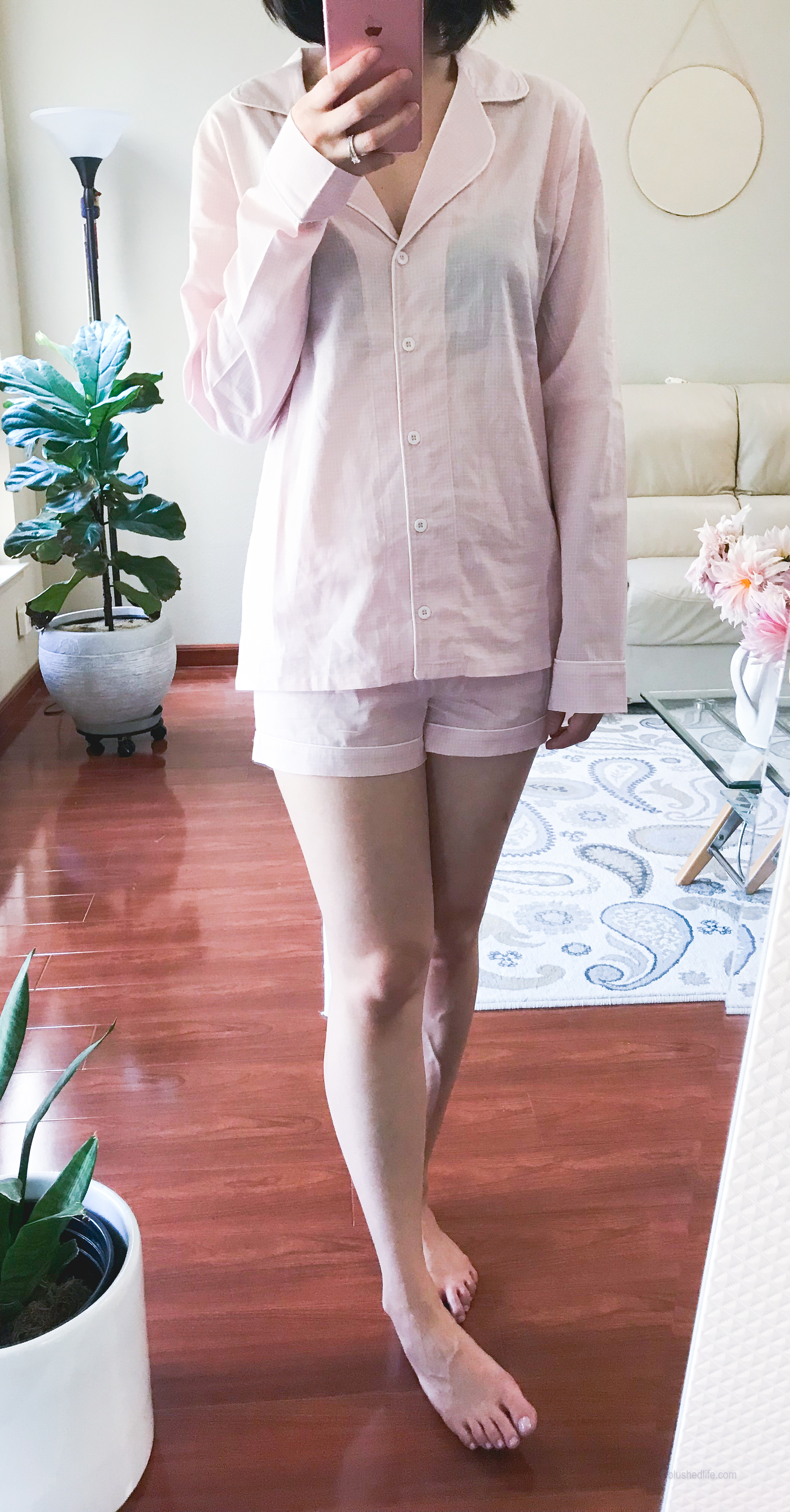 UGG® Cassandra Check Pajamas -