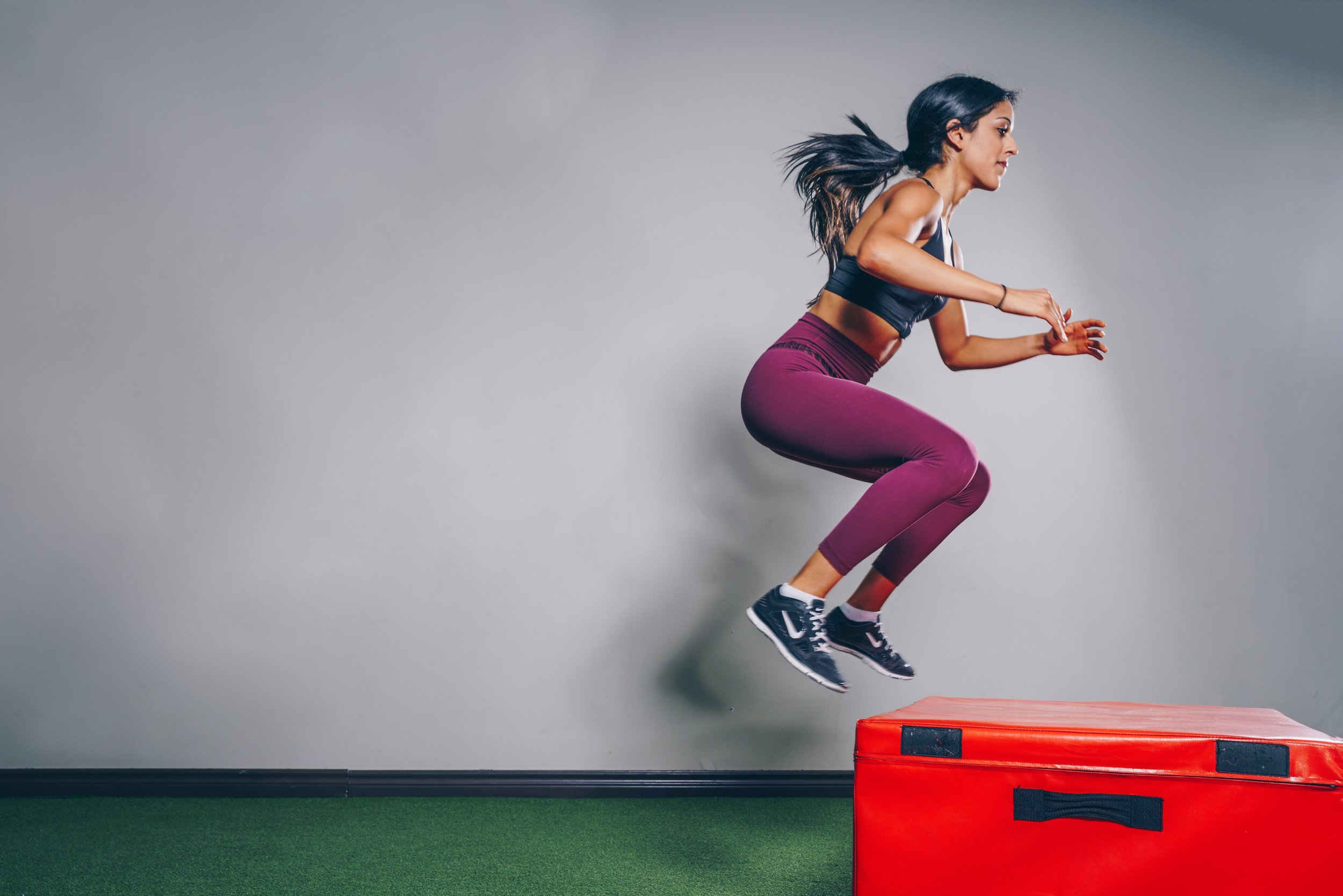Jumping for fitness