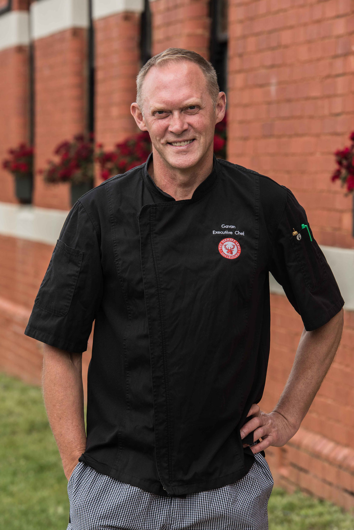 """"""" There is something special about summer in this region,"""" says Farmers Arms Executive Chef Gavan Anders."""