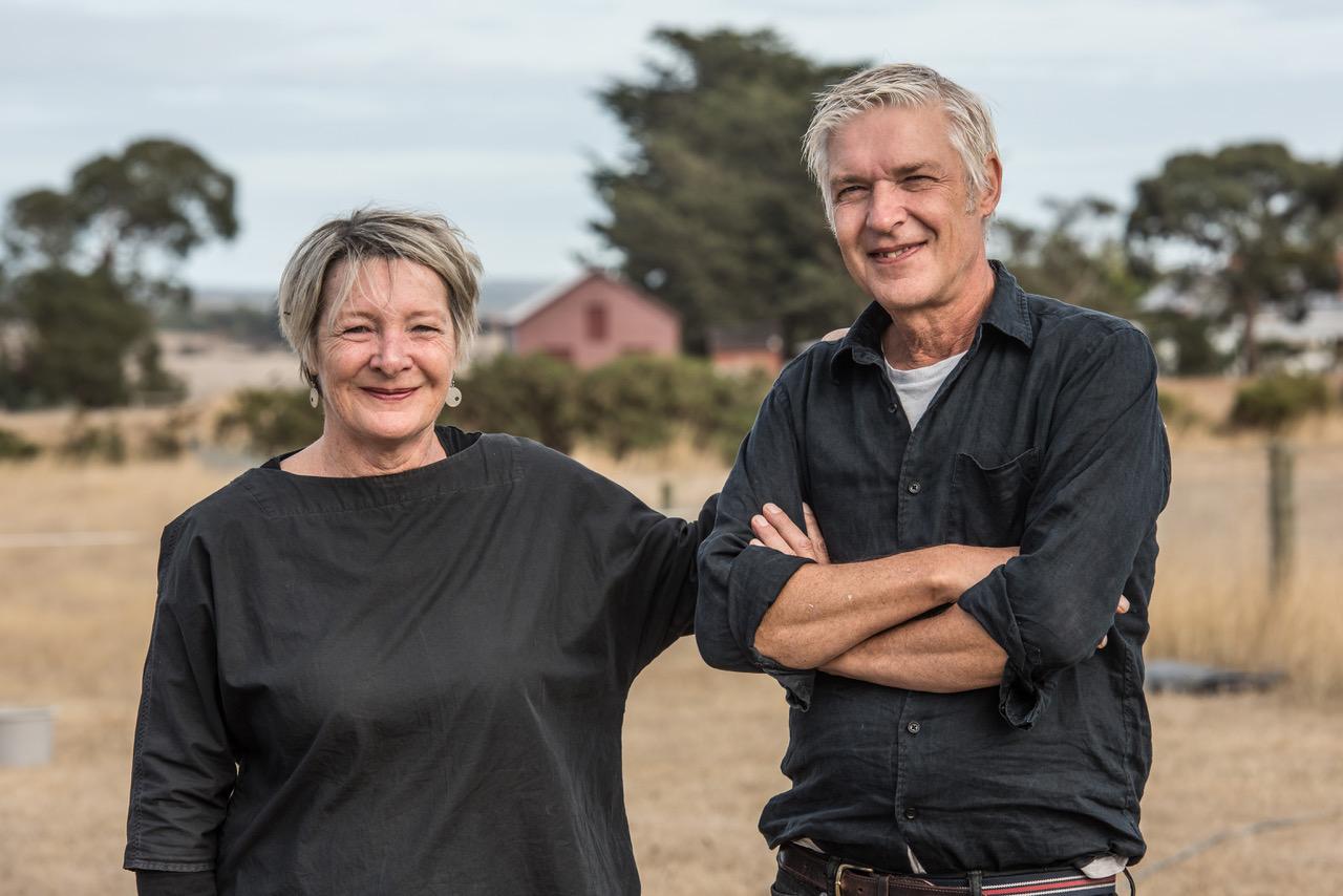 Wife and husband Karan Hayman and Mark Howson. Image by Richard Cornish.