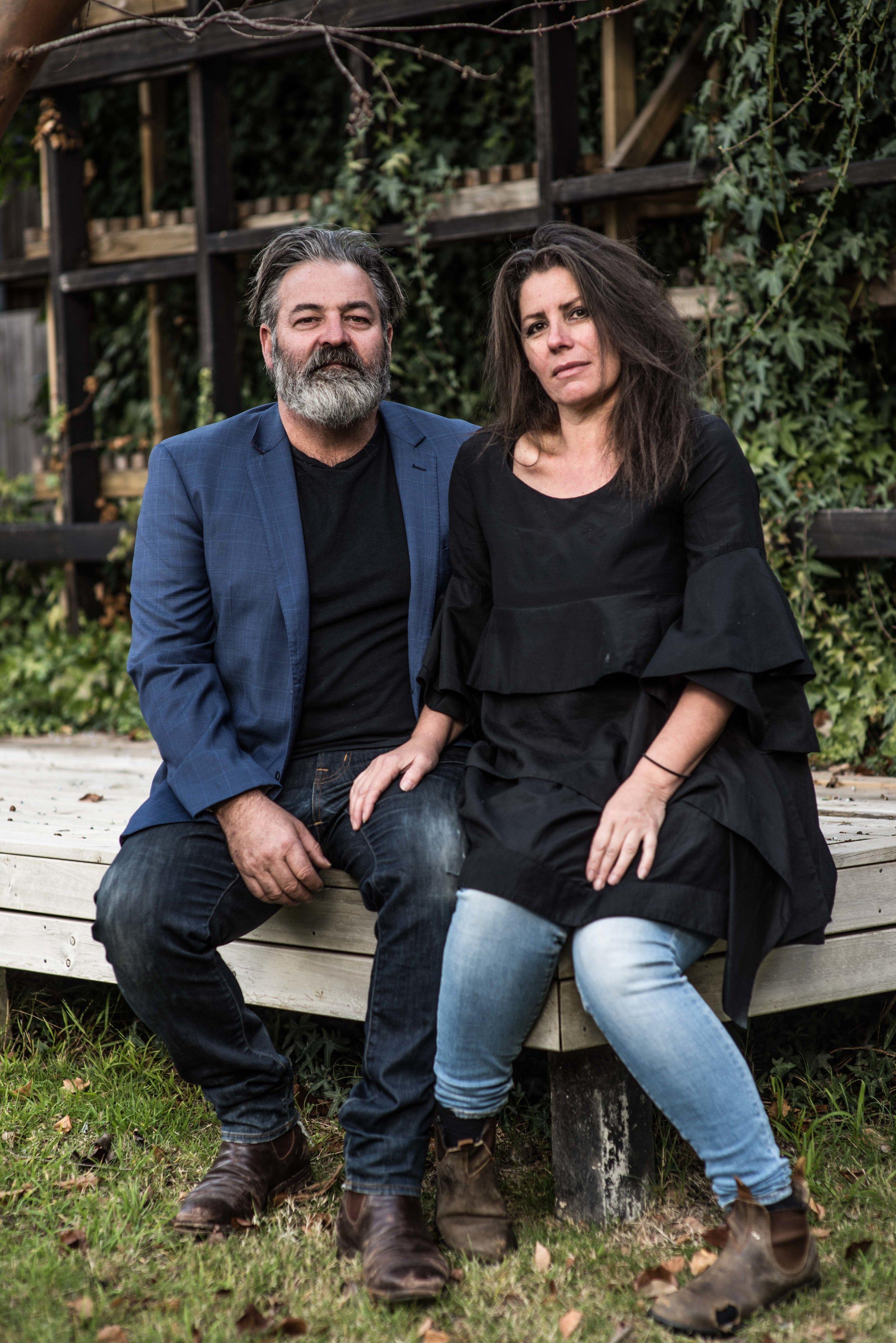 Tony De Marco & Theresa Abioli - Photo by Richard Cornish