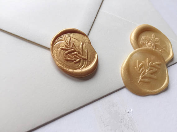Seal the love - Finish your envelopes with an enigmatic wax seal in your chosen colour and design. For a really personal touch, I can produce a bespoke monogram seal face for you.