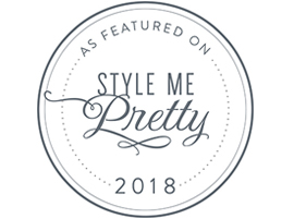 Featured stationer on Style Me Pretty