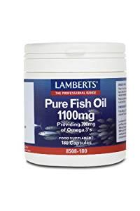 Lamberts Pure Fish Oil 1100mg - 120 Caps