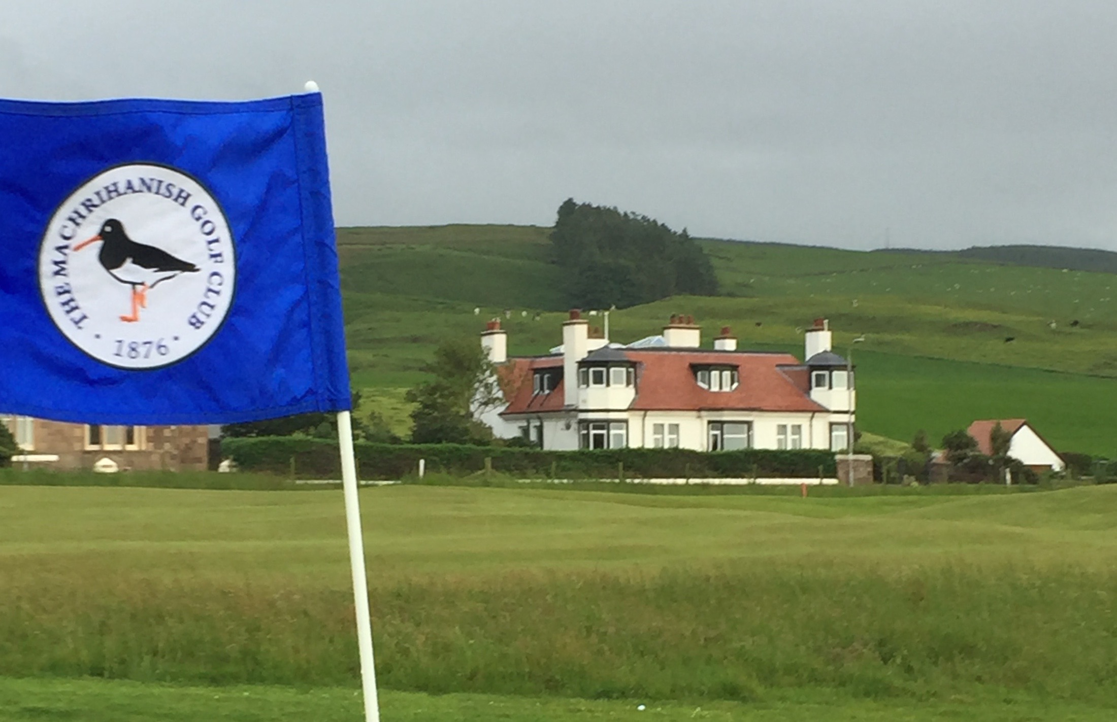 Dunlossit House from the golf course