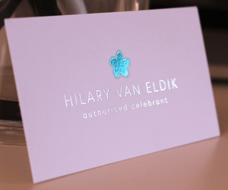 SPECIALIST PRINTING - Add foil blocking to your cards for a luxury finish that is sure to wow your clients.