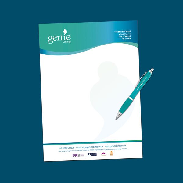 LETTERHEADED PAPER - Complete your business documentation with matching letterhead paper, from 90gsm to 250gsm.