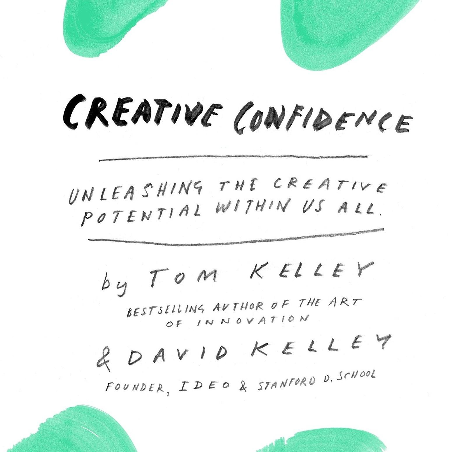 Creative Confidence book -