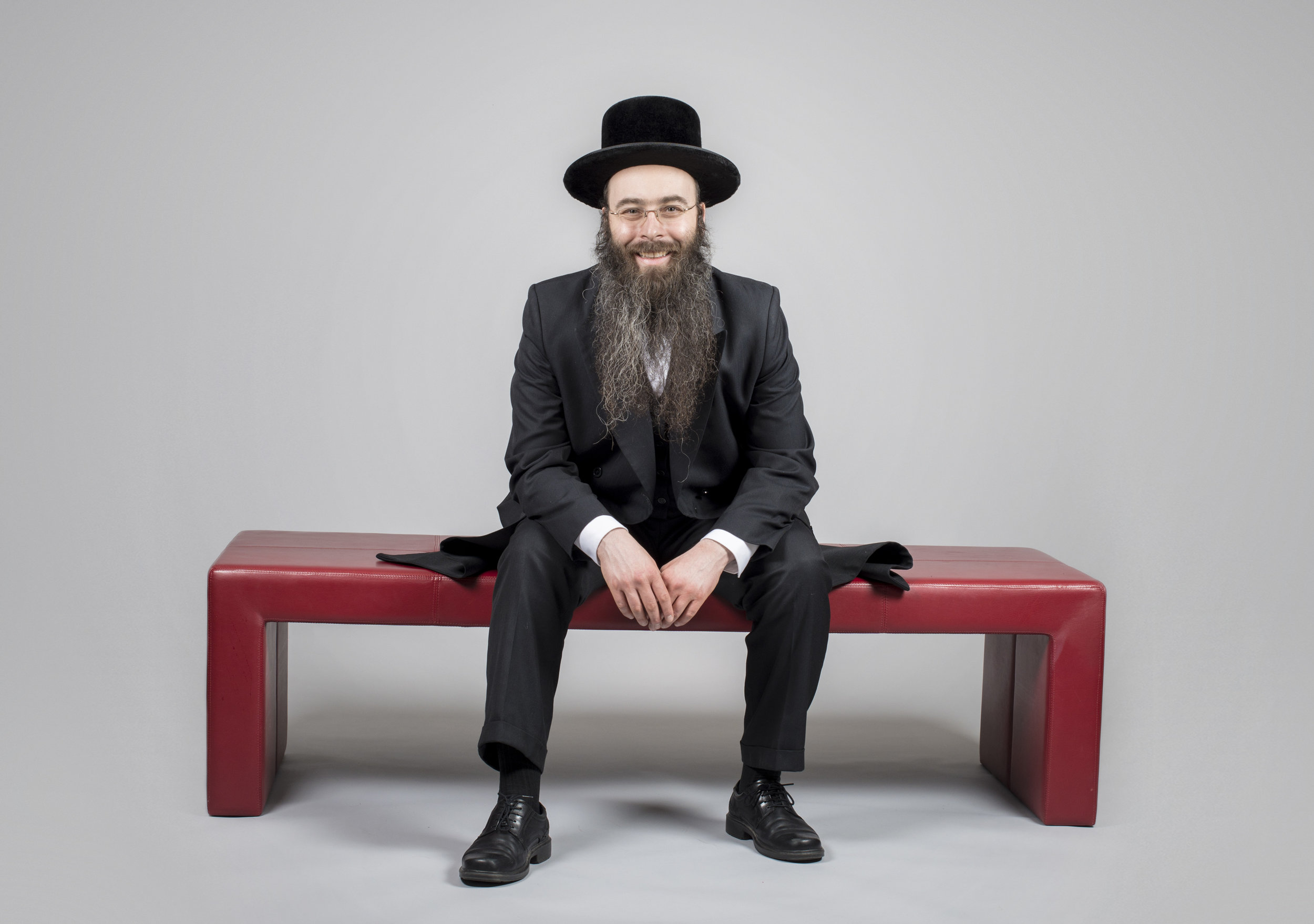 This is Avraham. He's hilarious. Smart and hilarious. And generous.