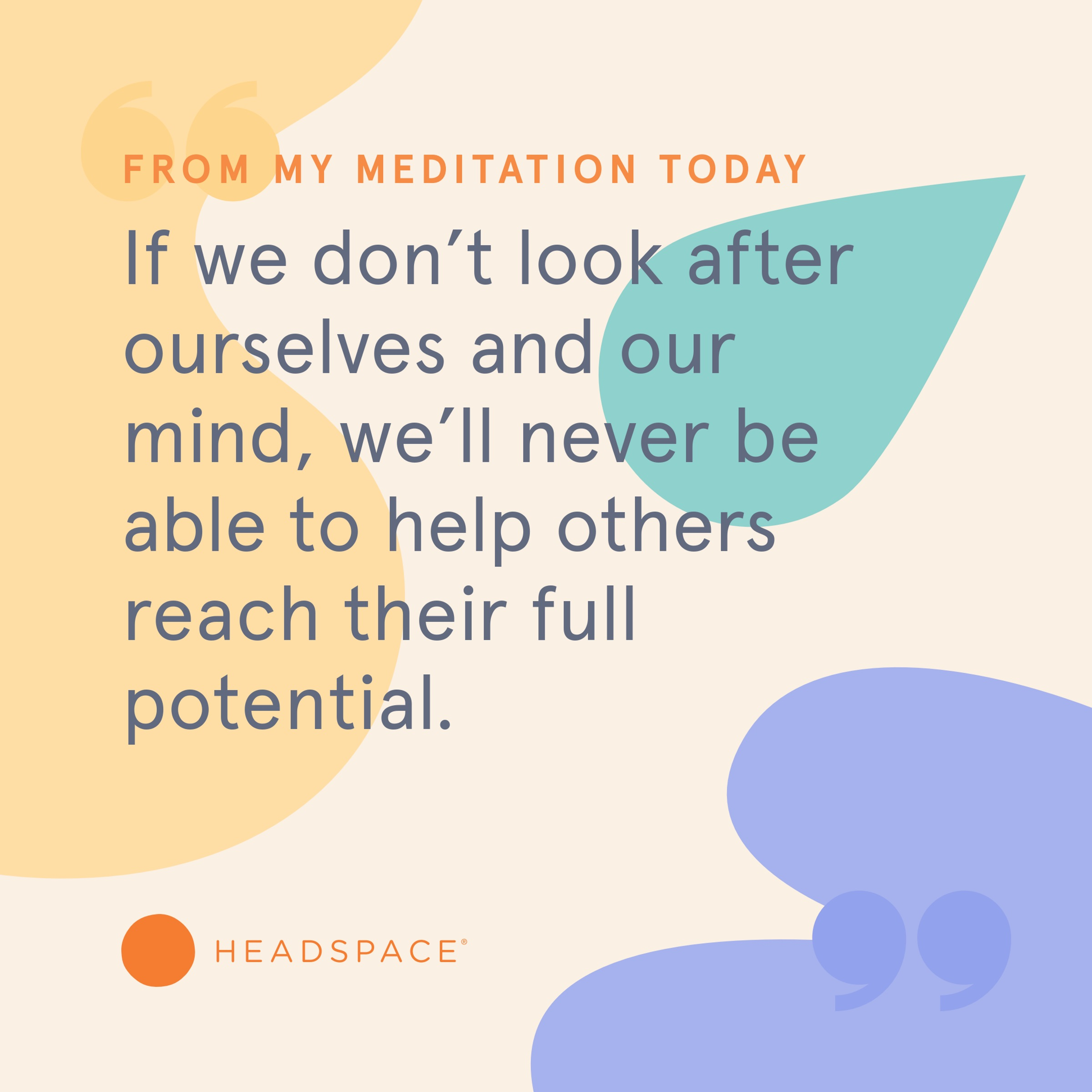If you've always wanted to be a person who meditates, you can do it today. The first ten days of  Headspace  is free.