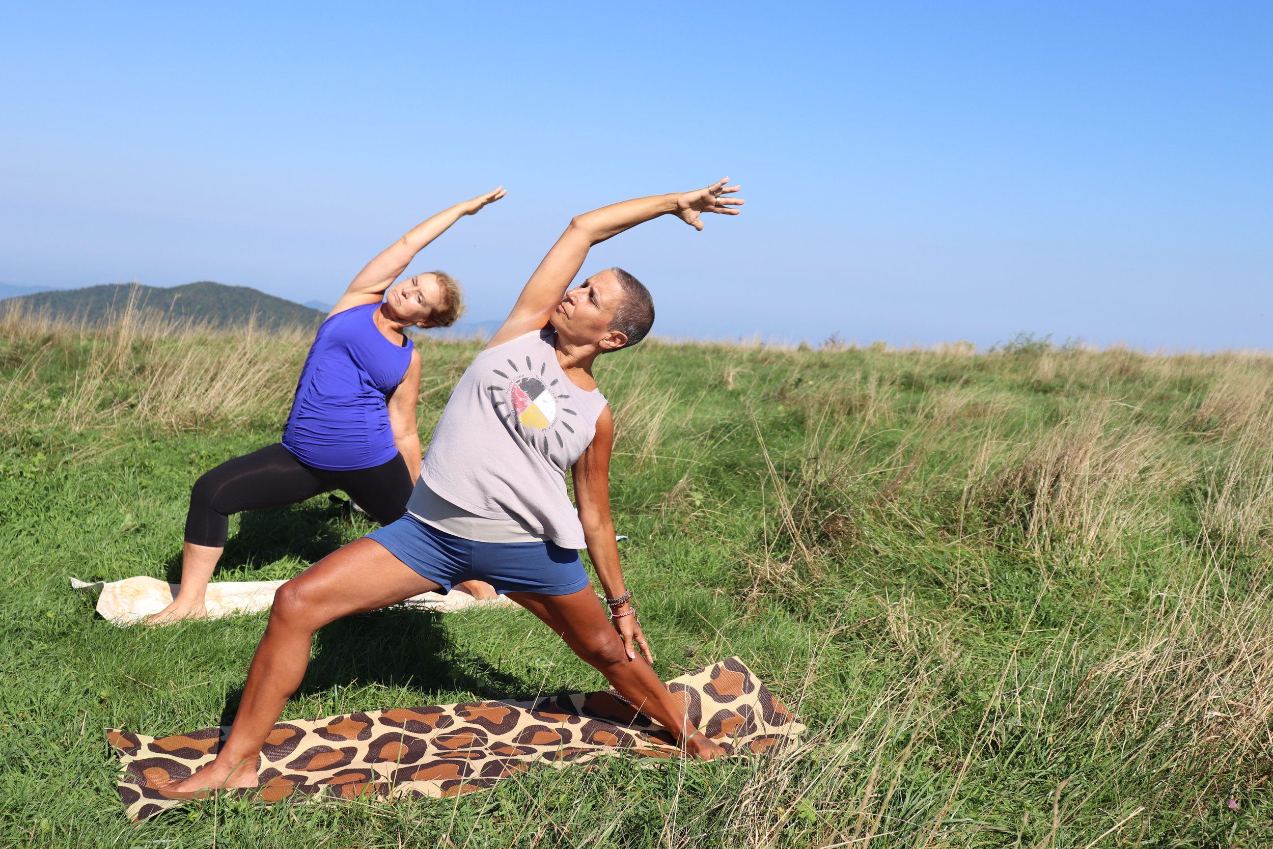 Appalachian Trail Yoga Hiking © Namaste in Nature
