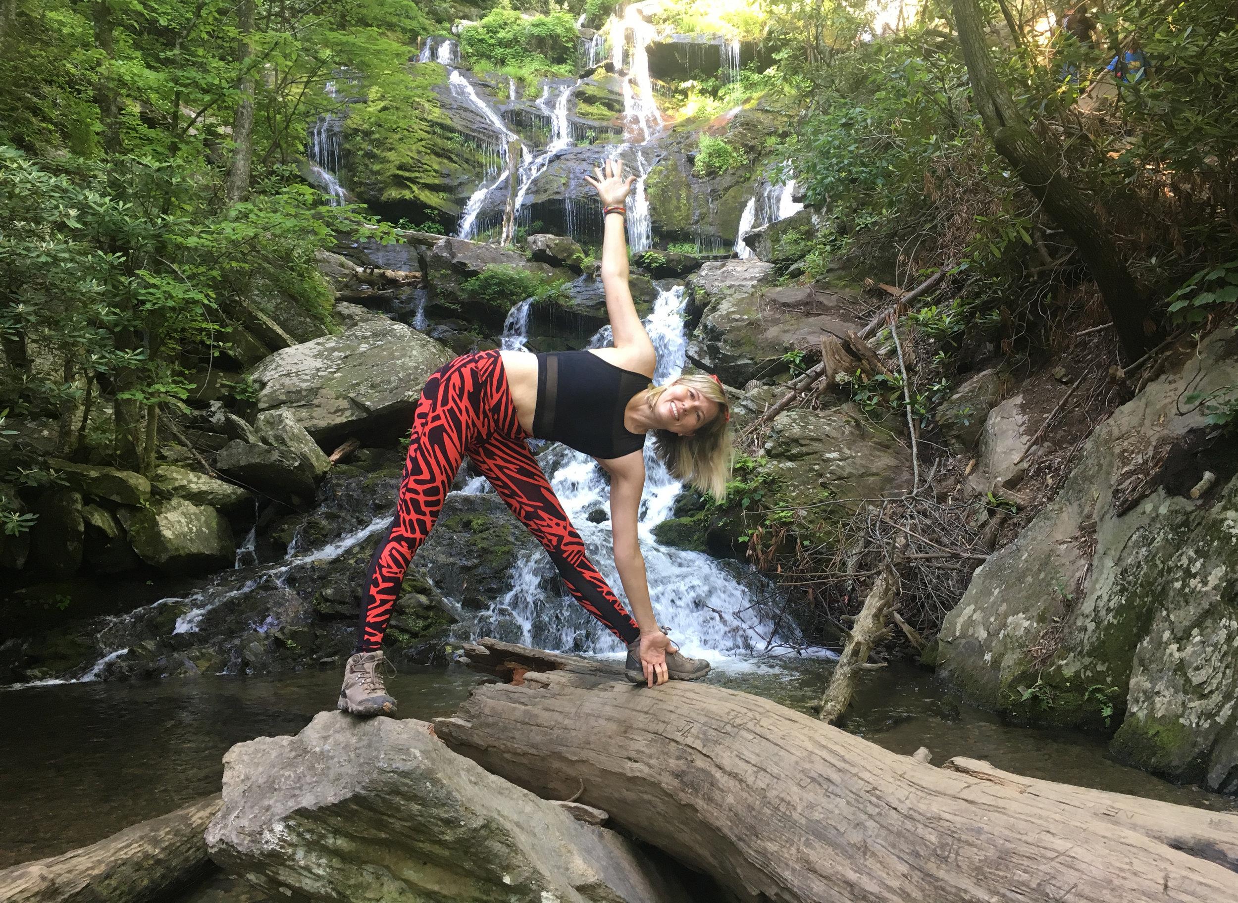 asheville waterfall hike and yoga.JPG