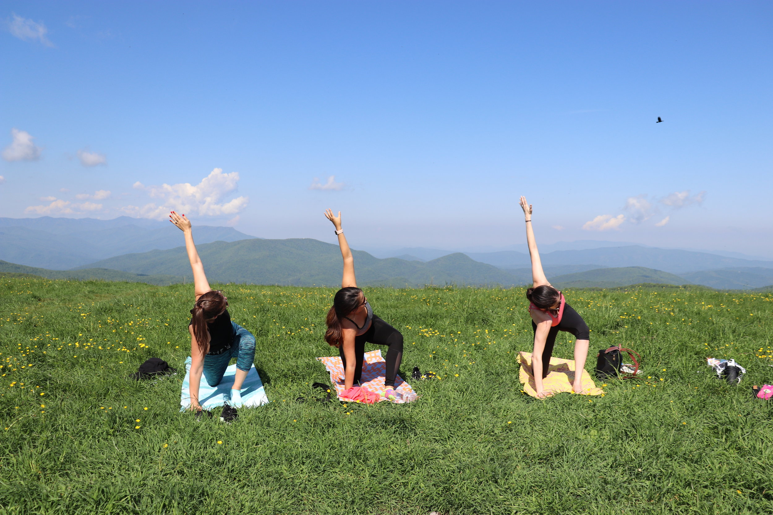 Mountain Yoga Hike
