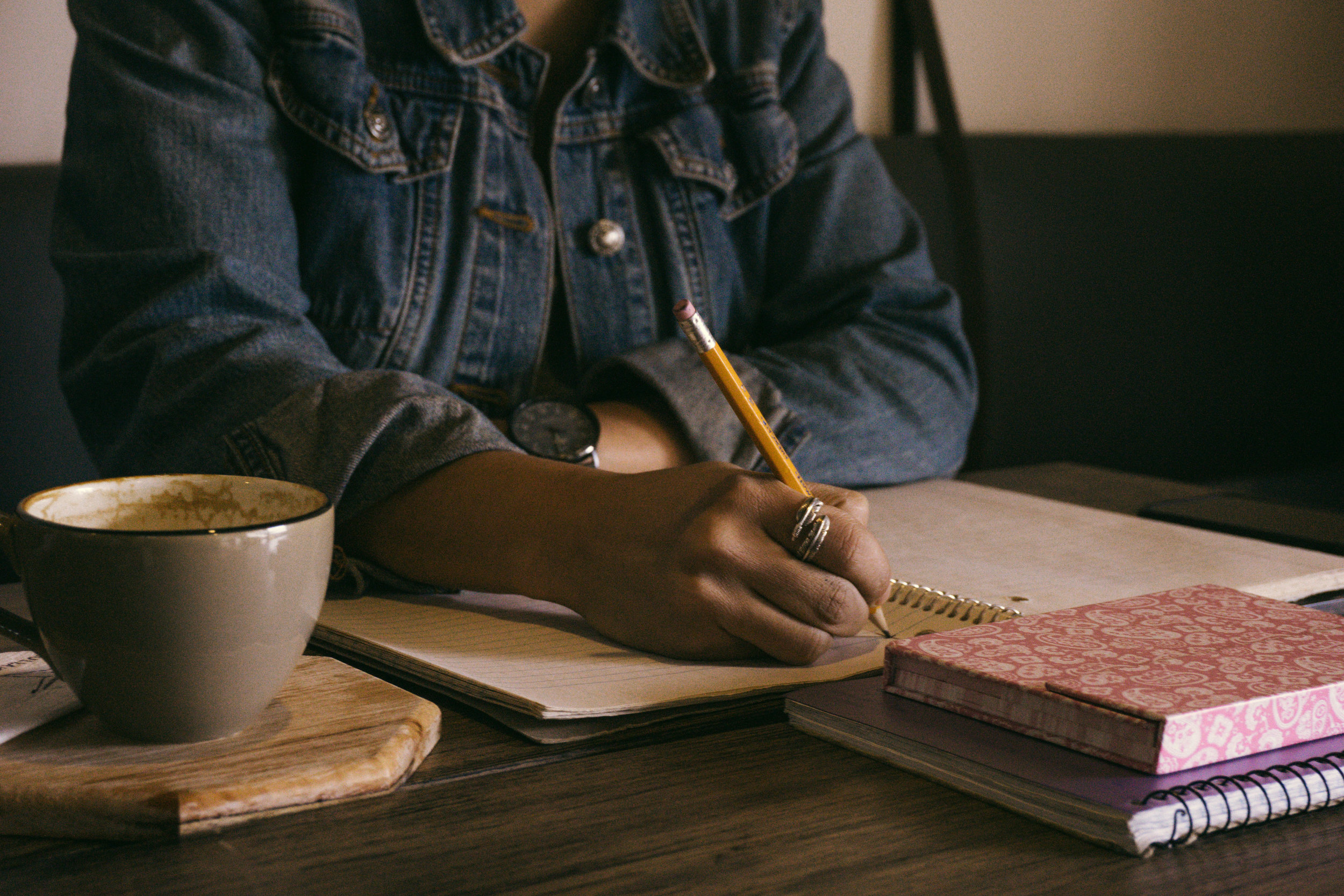 How do I write when I don't know what to write about?
