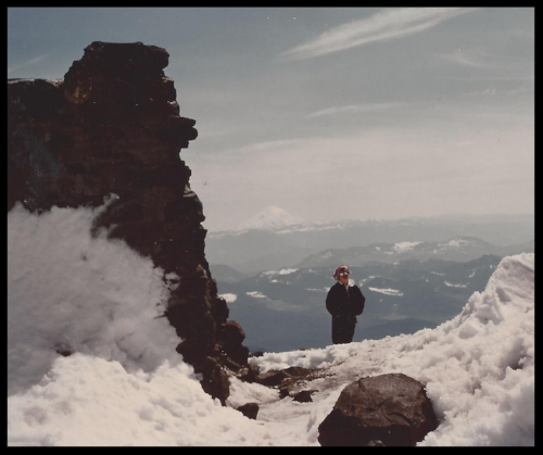 That's me at the Muir Camp on Mount Ranier!