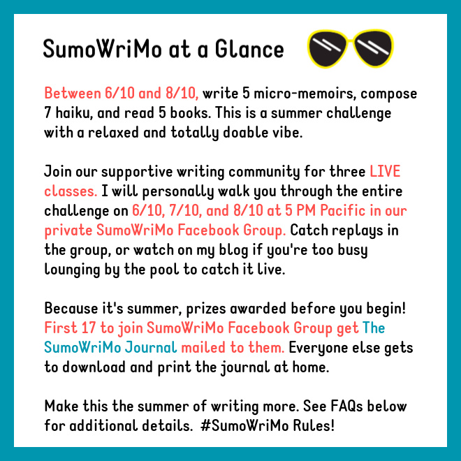 Lorrie Tom - Lorrie Tom's Blog-Announcing SumoWriMo - The
