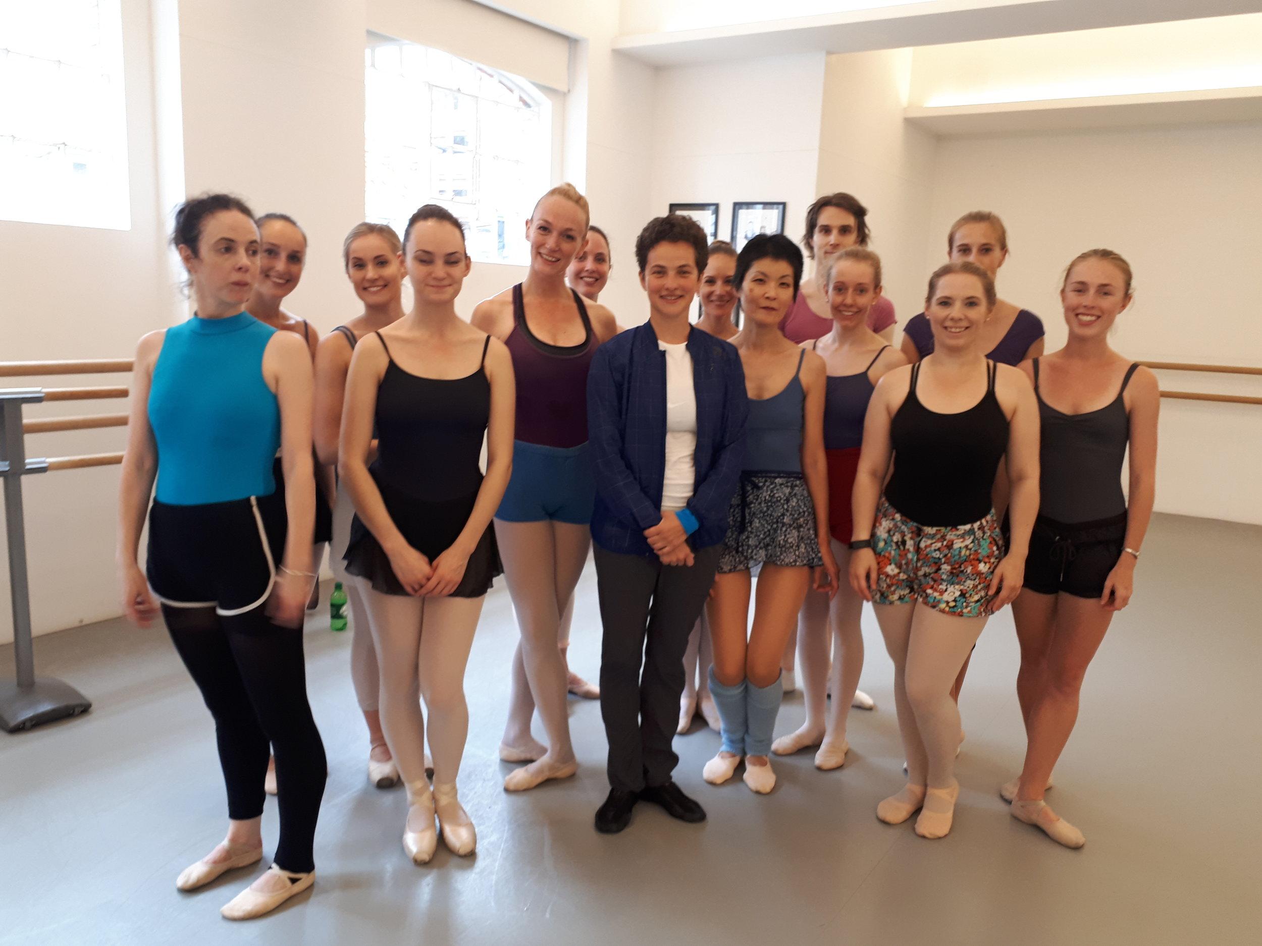 class with elena glurjidze