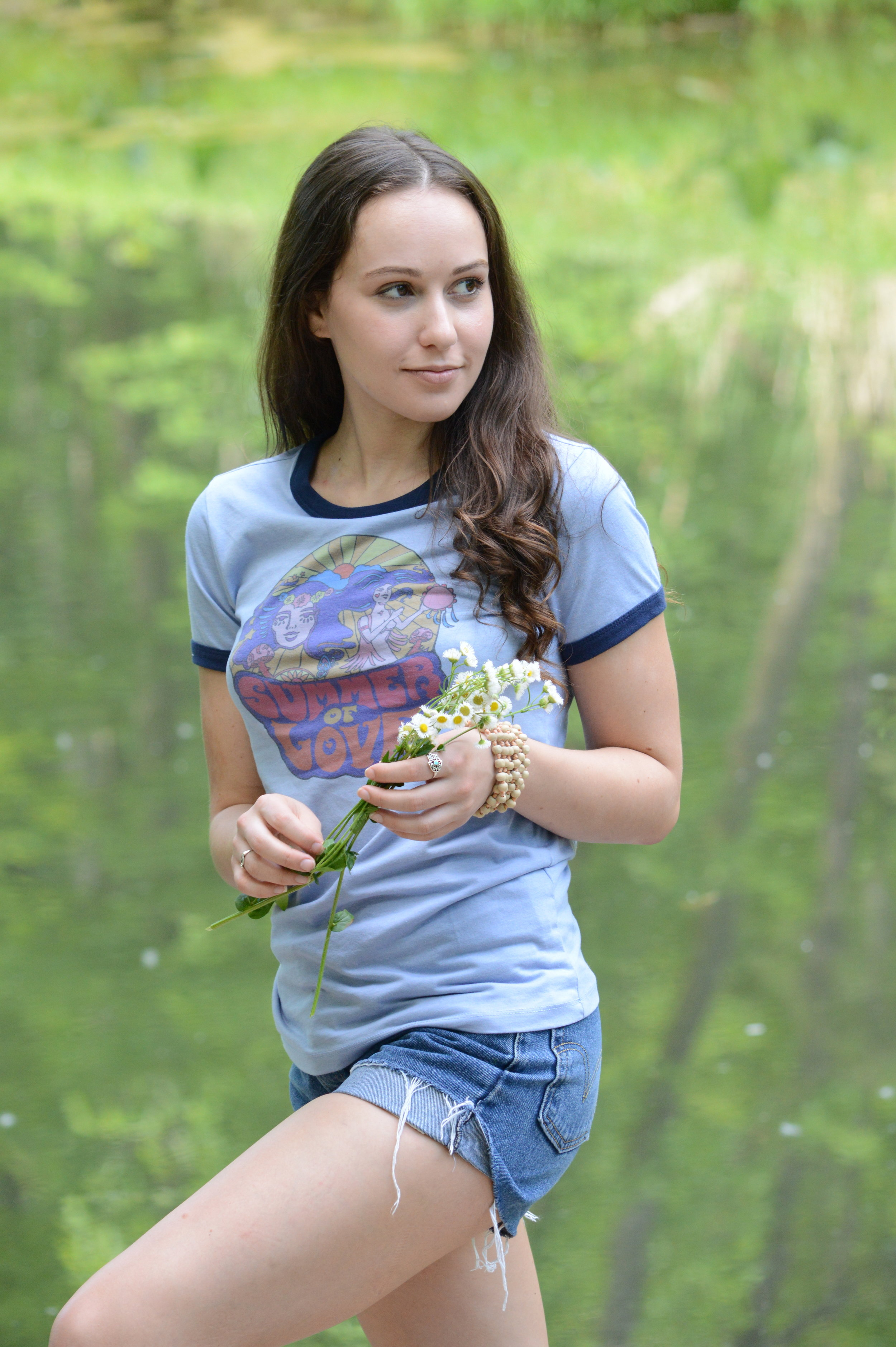 Classic Rock Couture  t-shirt, vintage Levis shorts.Photography: @lkfphotography  (my talented mother)