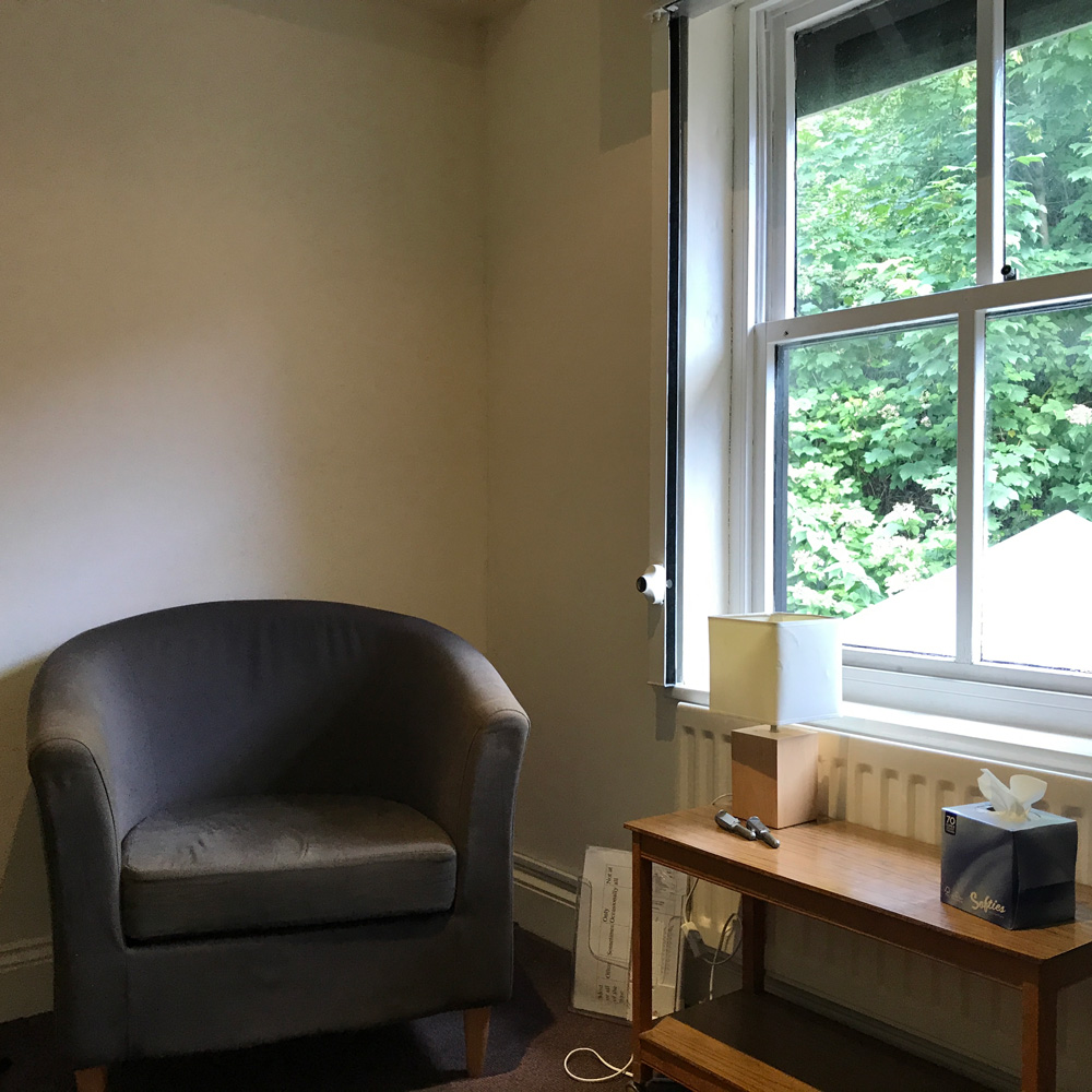 We have 7 counselling rooms available, they are private and fully equiped.
