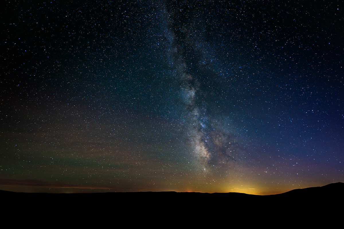 Milky Way, Fossil Butte National Monument