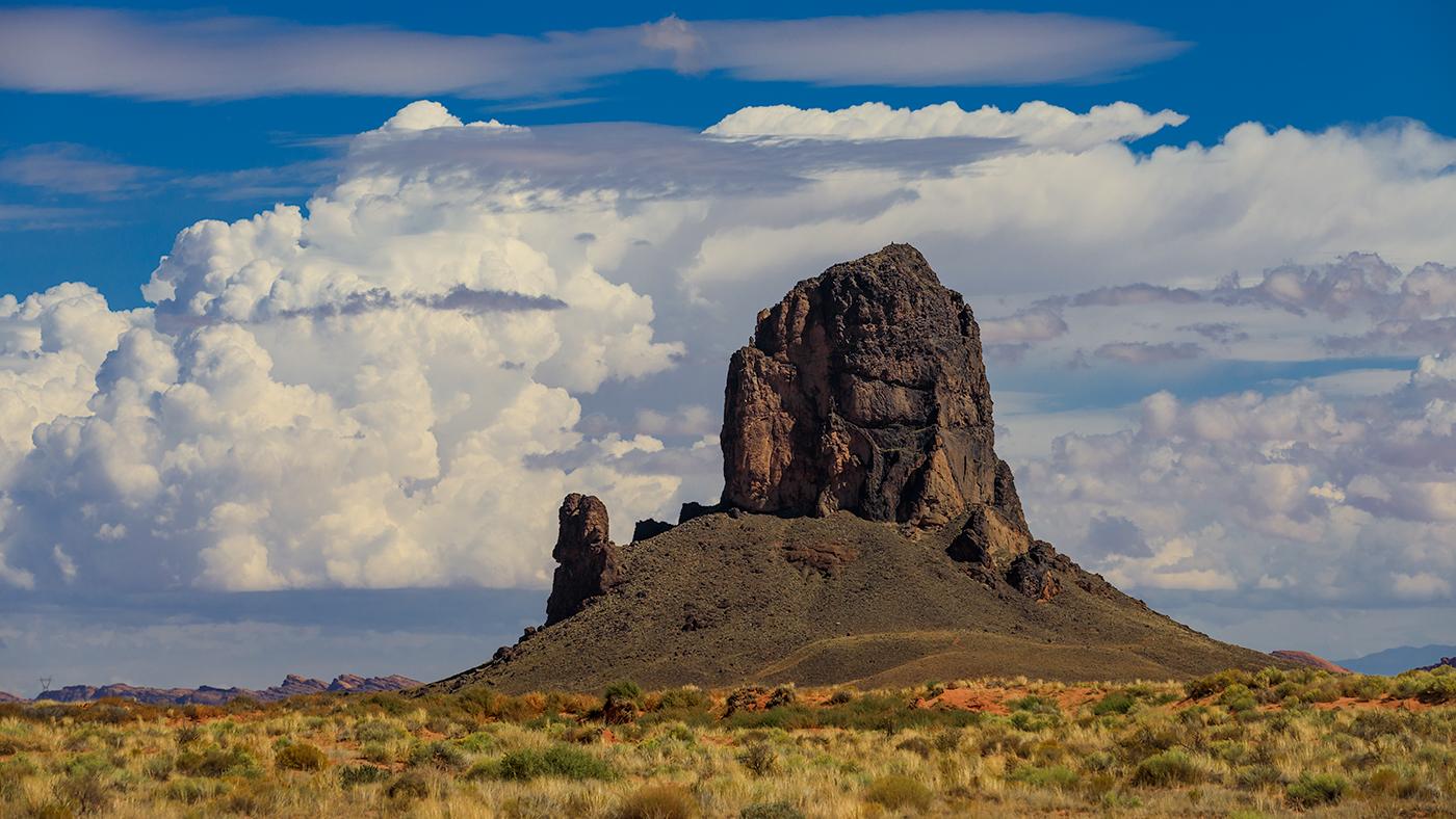 Algathla Peak, El Capitan, Navajo Nation, Arizona