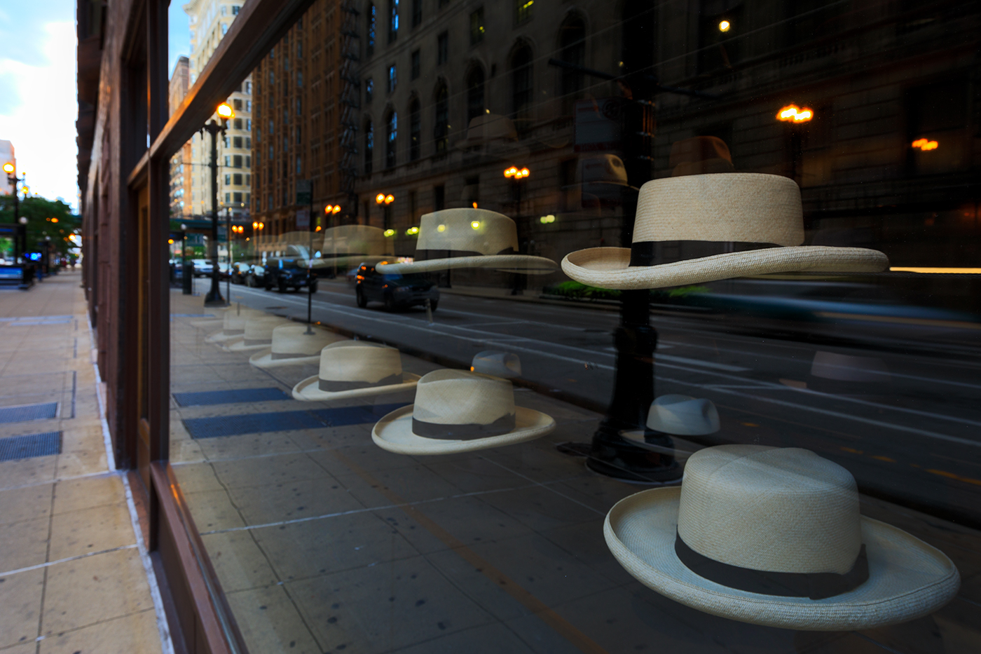 Optimo Hats, Dearborn Street