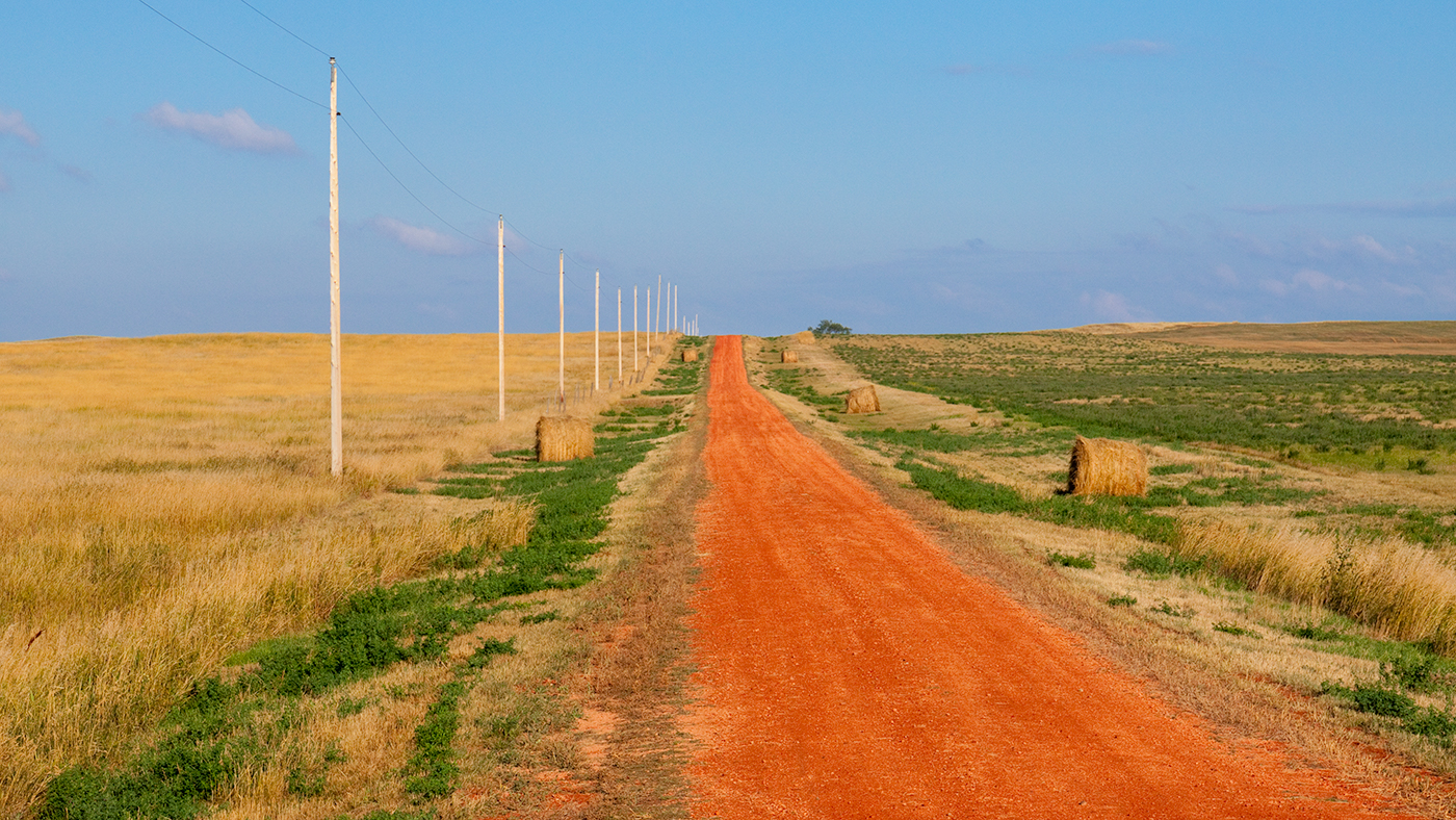 Government Creek Road, Billings County, North Dakota