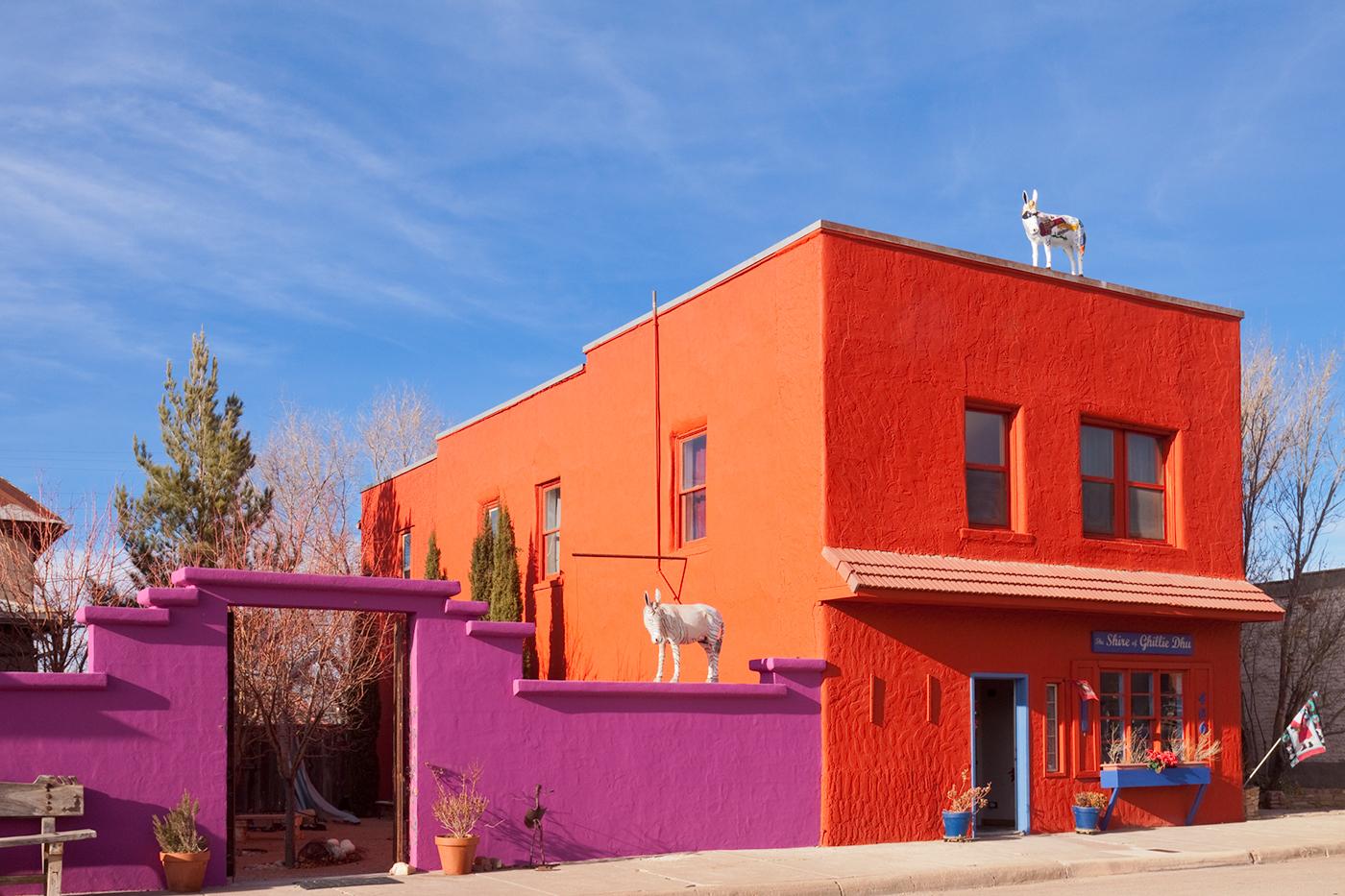 Carrizozo, Route 54, New Mexico