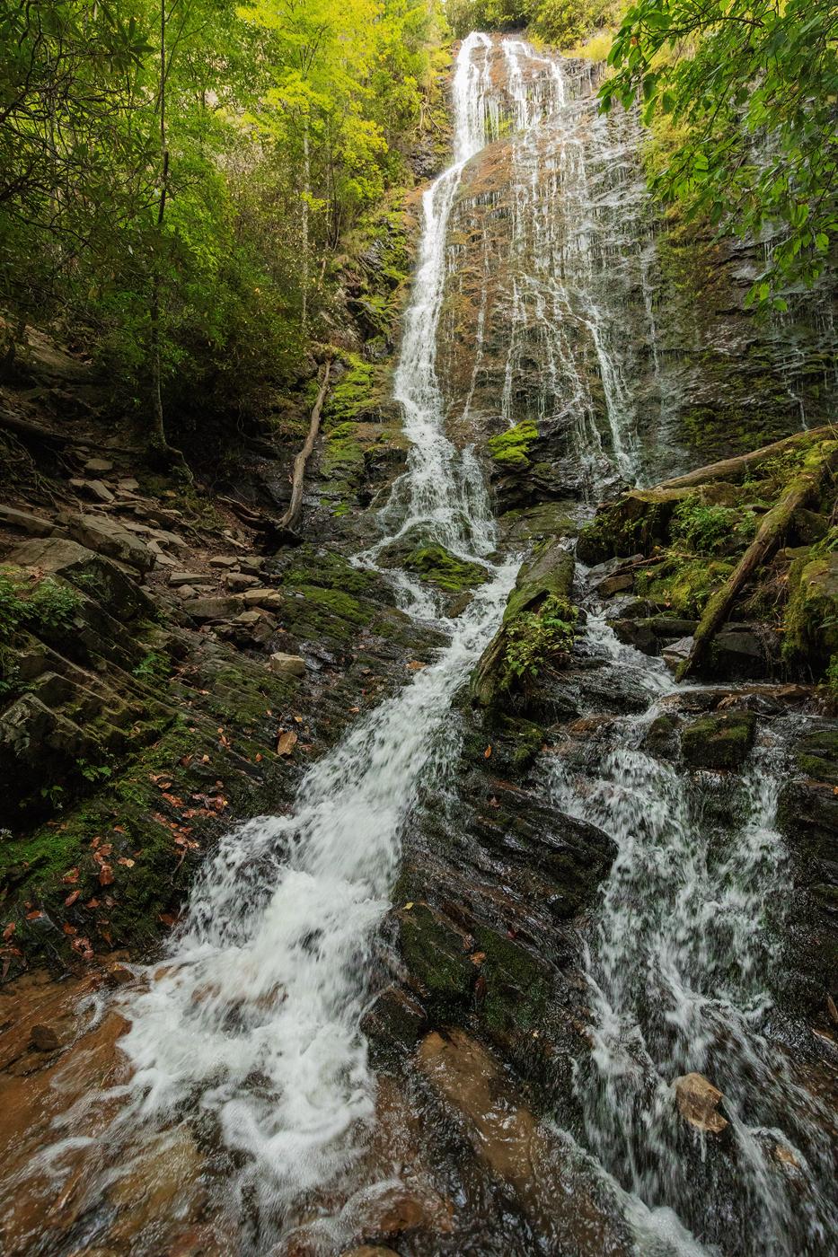 Mingo Falls, Qualla Boundary, North Carolina
