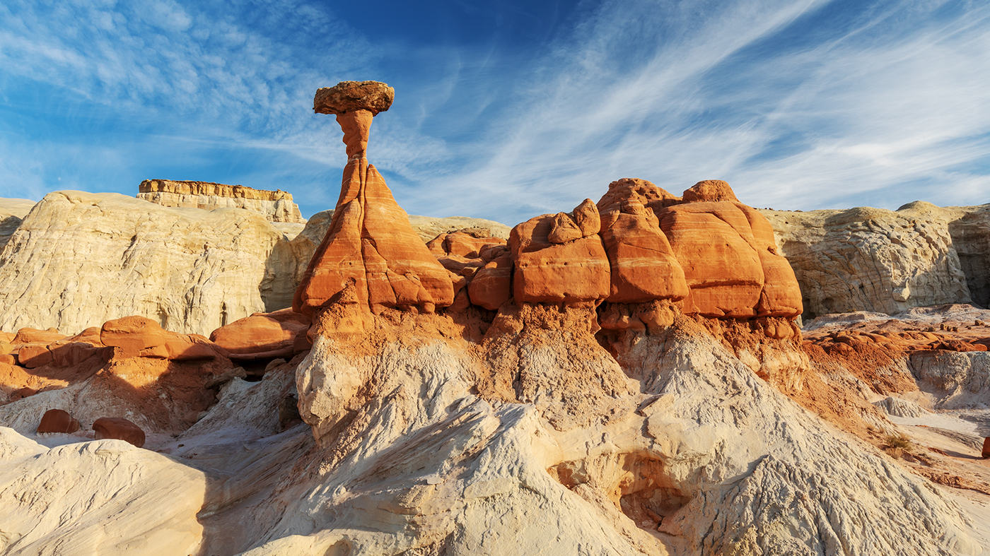 Toadstool Formation, Grand Staircase-Escalante National Monument, Utah