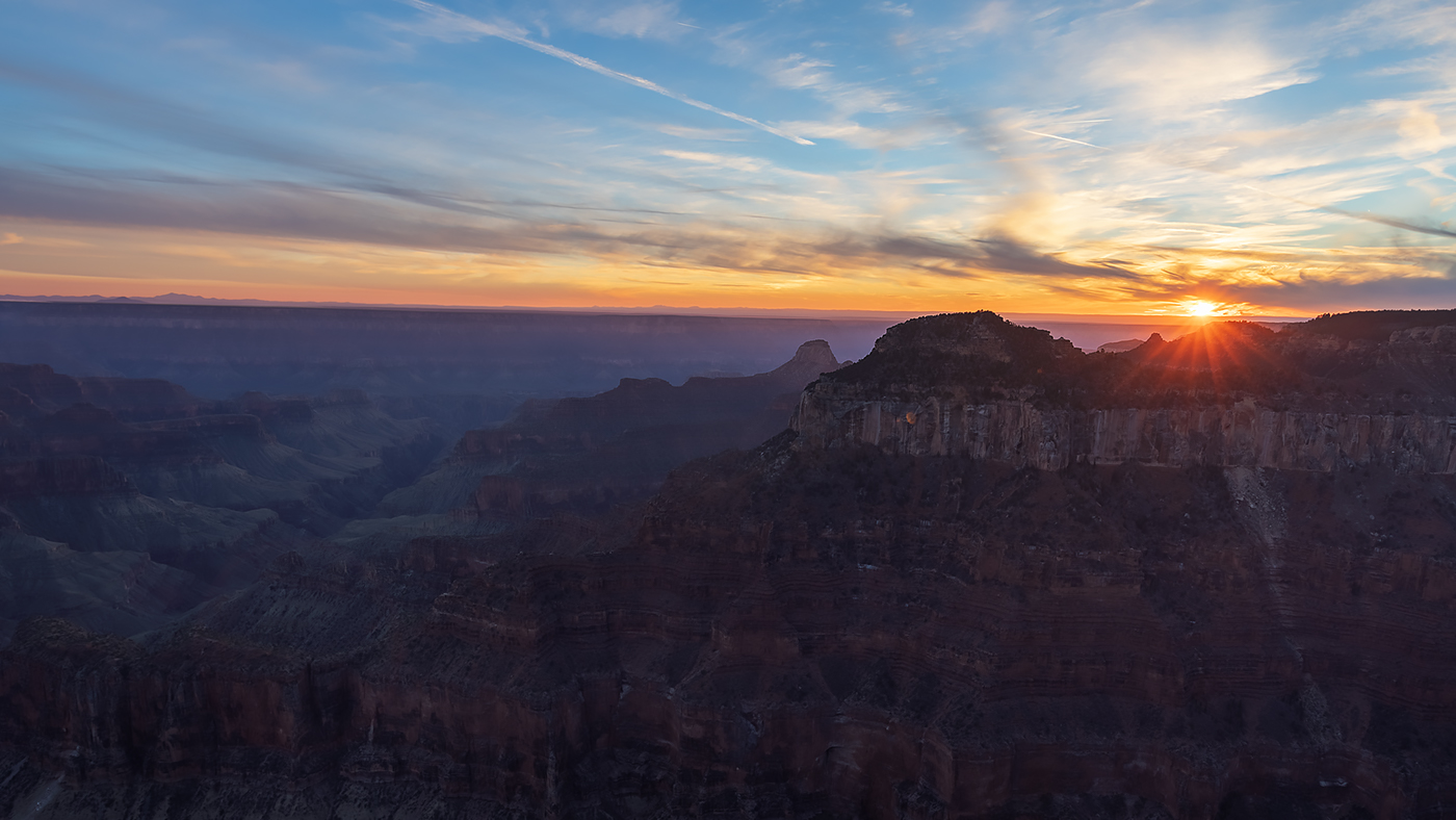 Sunset, Grand Canyon