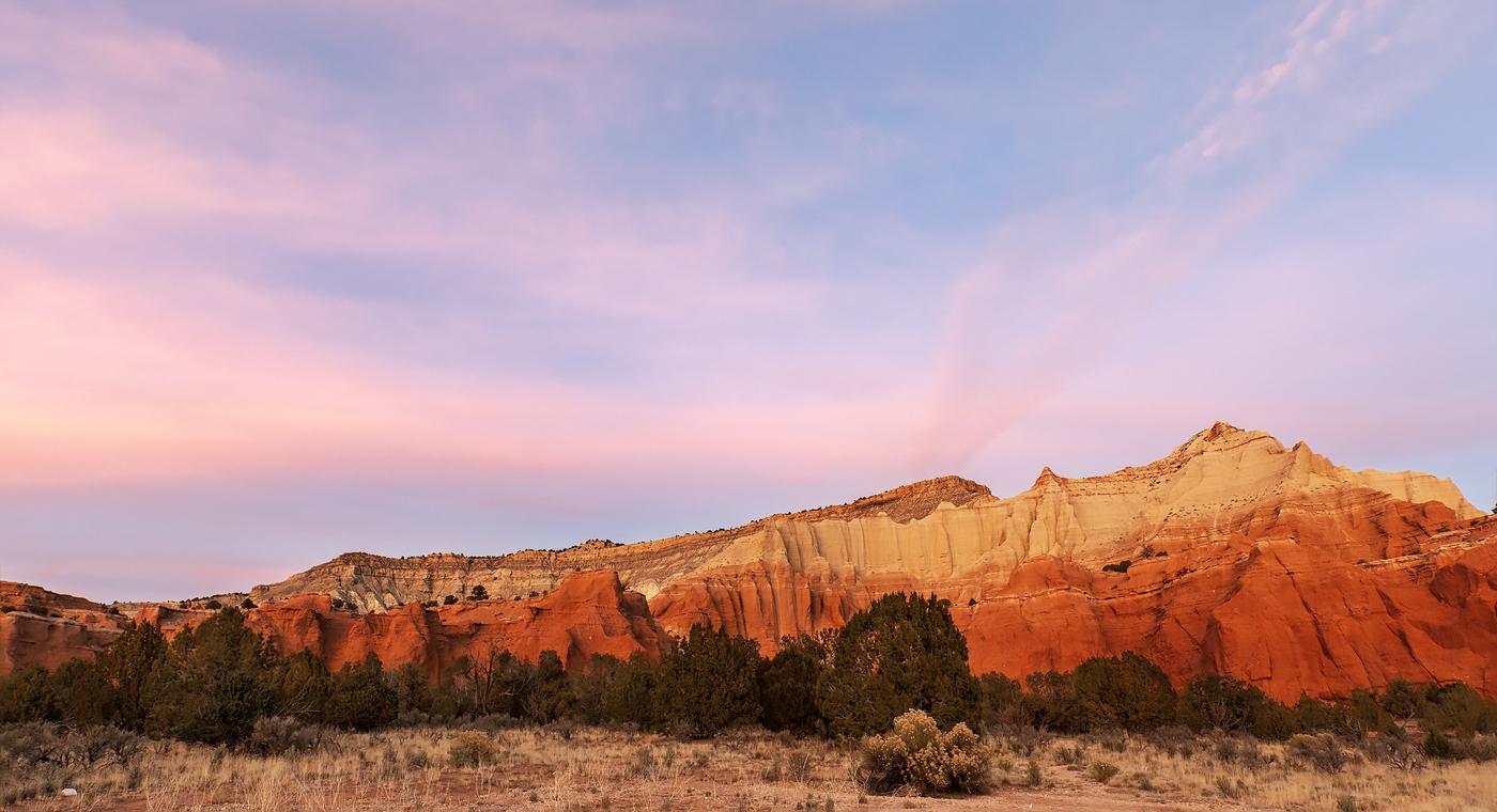 Sunset, Kodachrome Basin State Park, Utah