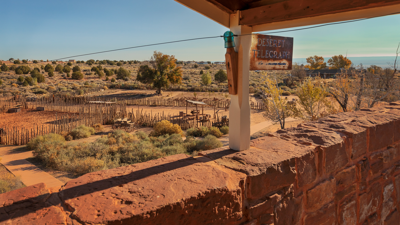 Deseret Telegraph, Winsor Castle, Pipe Spring National Monument, Arizona