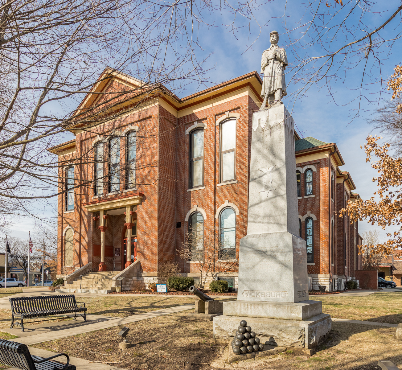 Bond County Courthouse, Greenville, Illinois