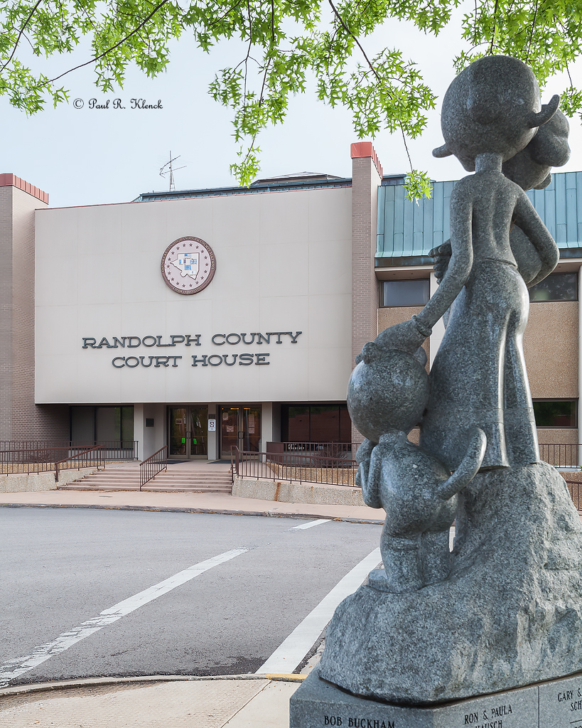 Randolph County Courthouse, Chester, Illinois
