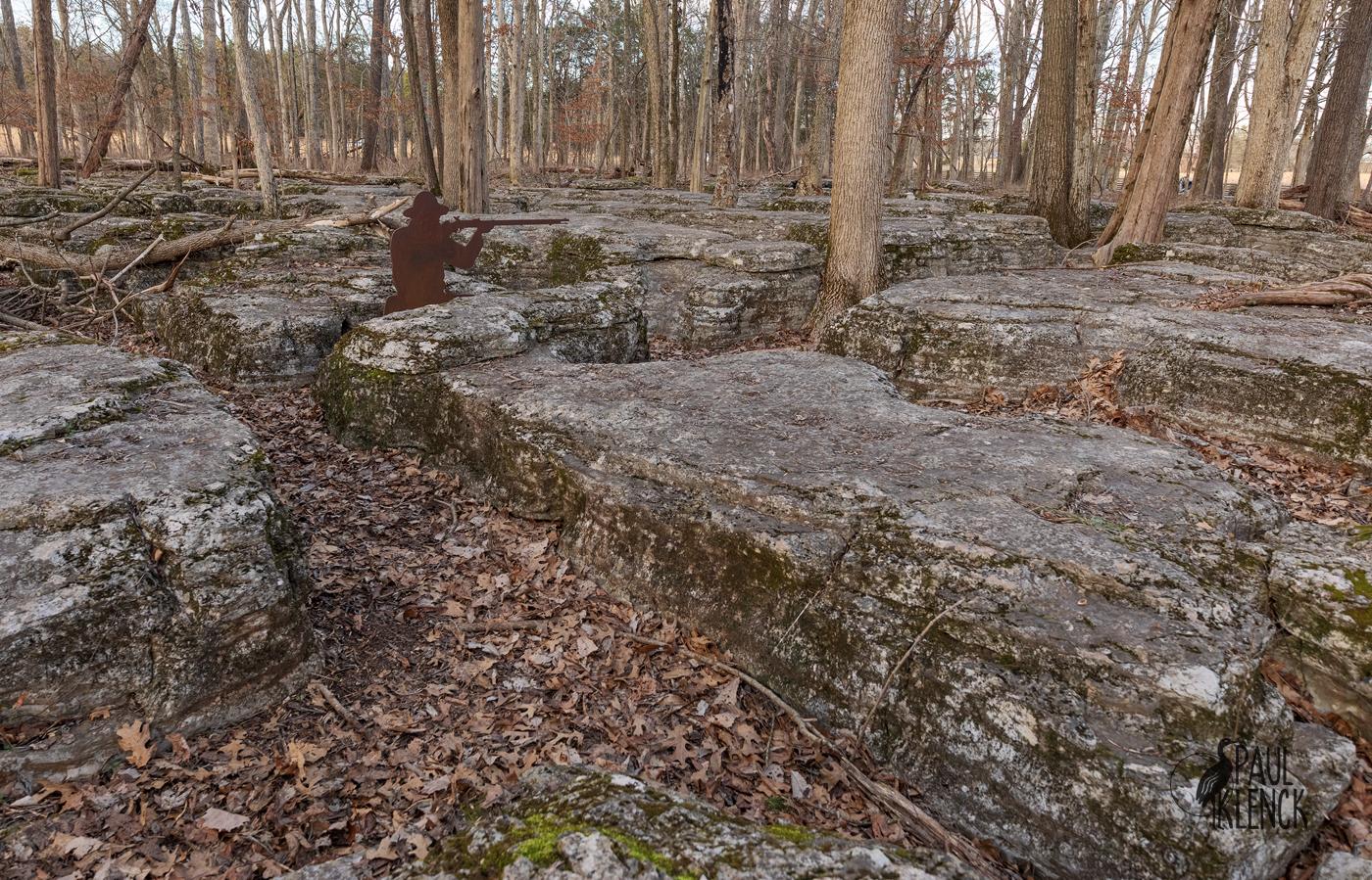 Slaughter Pen, Stones River National Battlefield, Tennessee