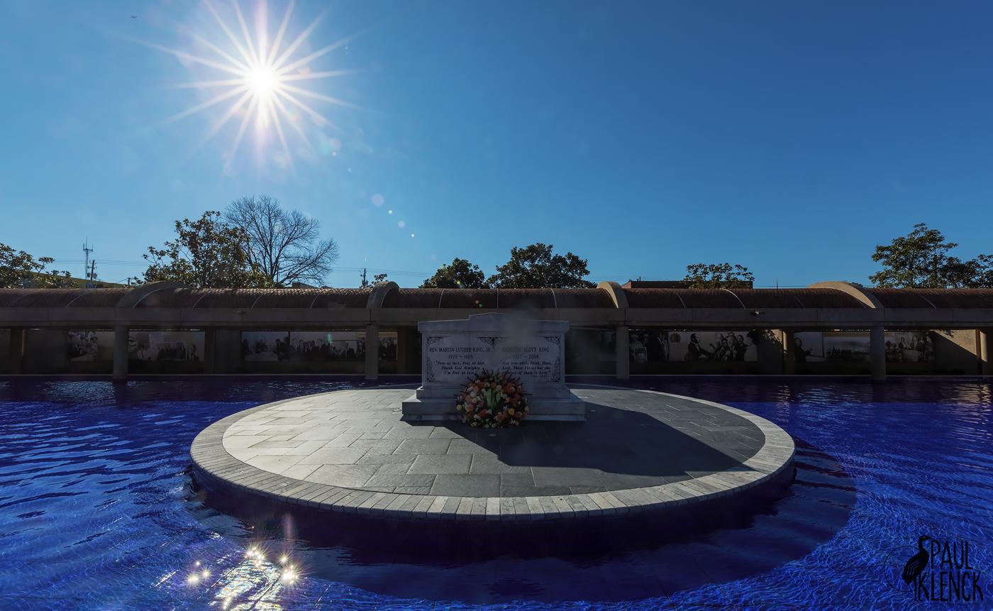 Martin Luther King, Jr. and Coretta Scott King tombs, Atlanta