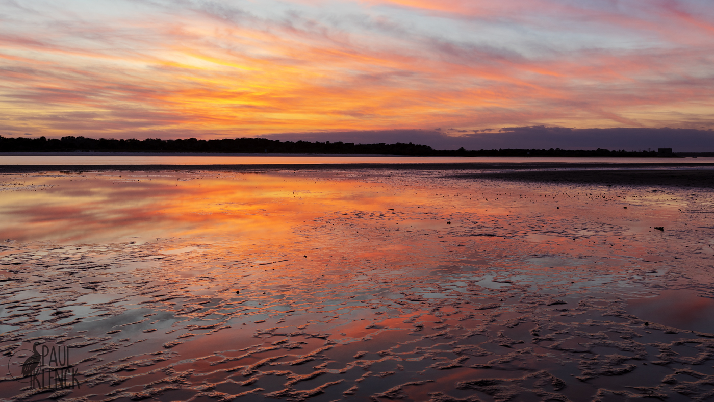 Dusk on the estuary, Fort Matanzas National Monument, Florida