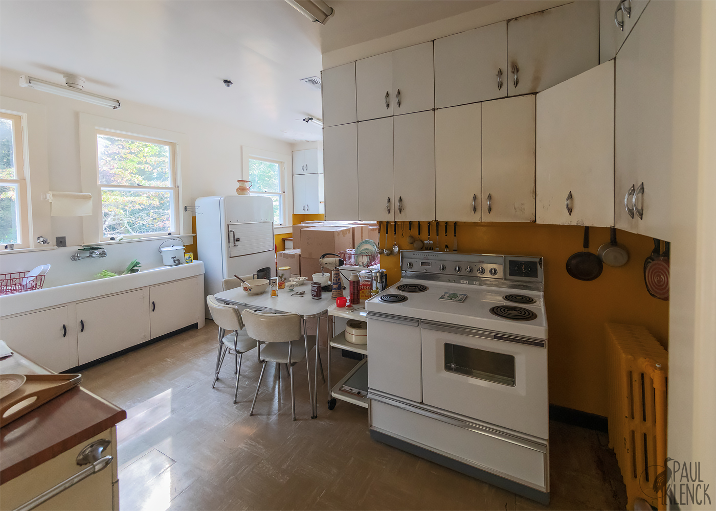 Kitchen, Carl Sandburg Home National Historic Site