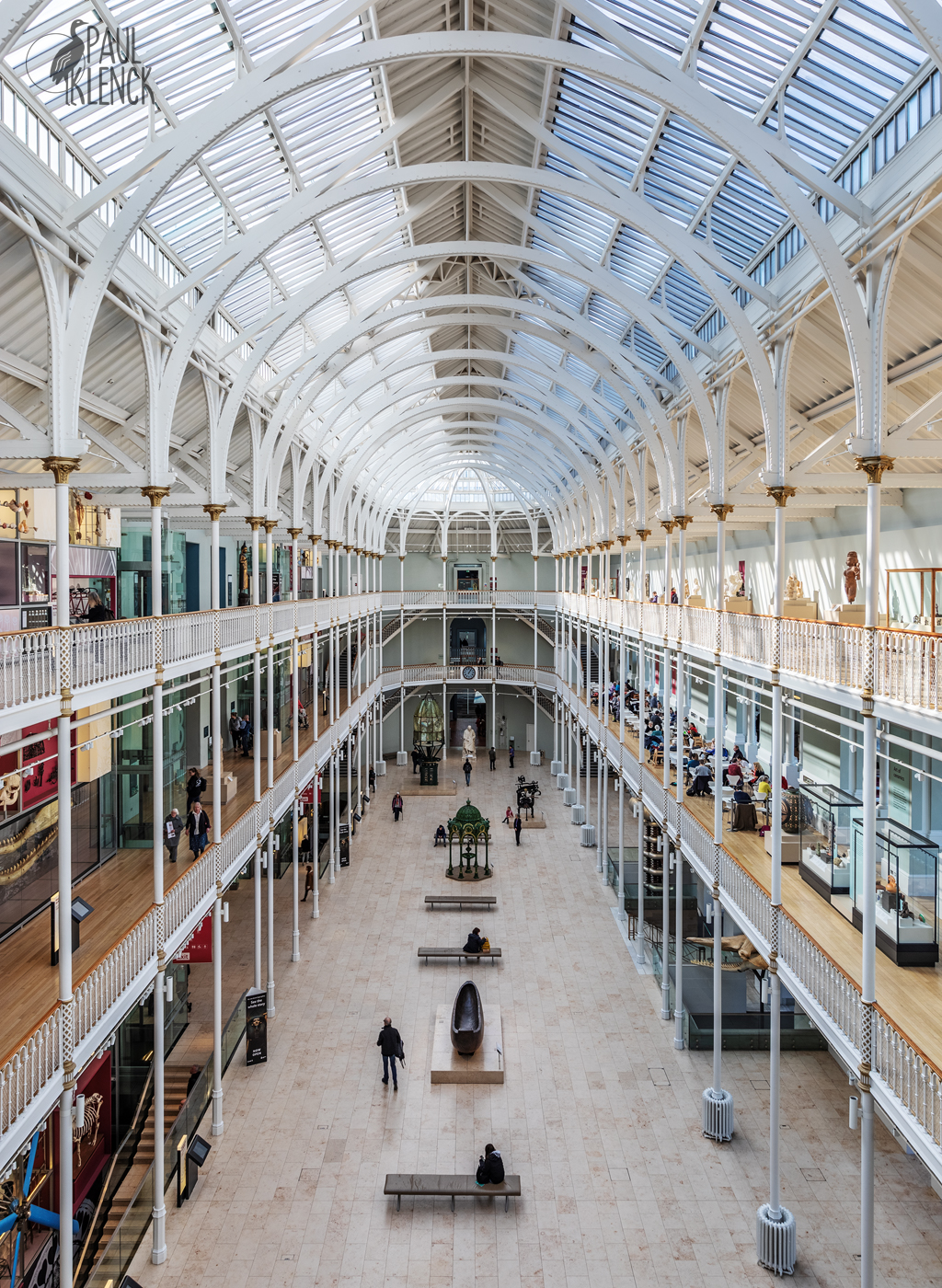 Grand Gallery, National Museum of Scotland, Edinburgh