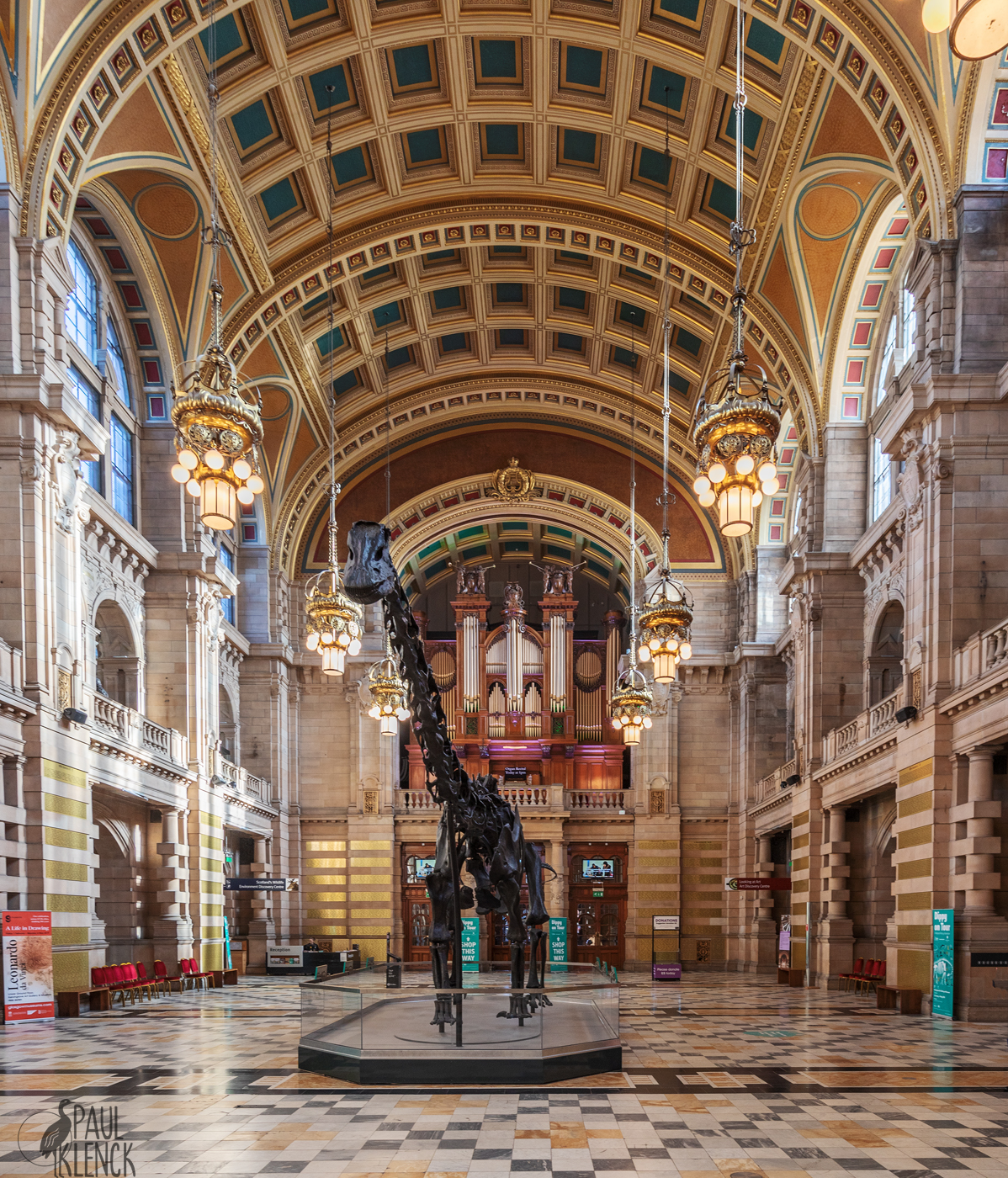 Argyle Street Hall, Kelvingrove Art Gallery and Museum