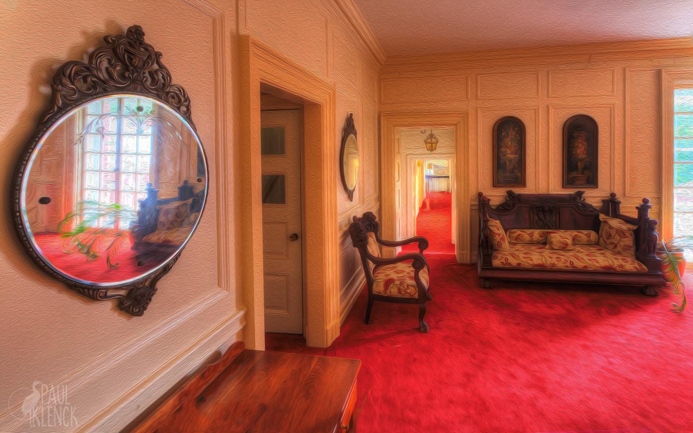 Allerton mansion upstairs landing