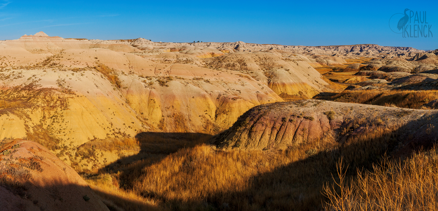 Yellow Mounds, Badlands National Park, South Dakota